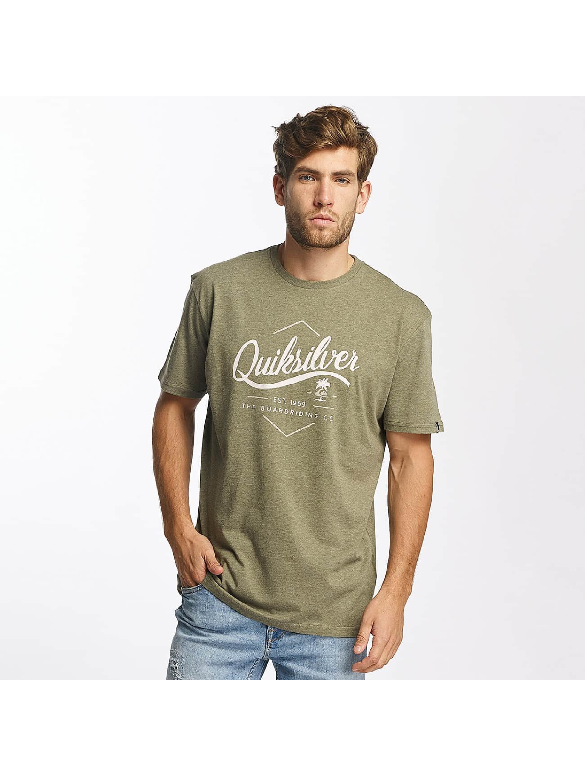 Quiksilver T-skjorter Classic Sea Tales oliven