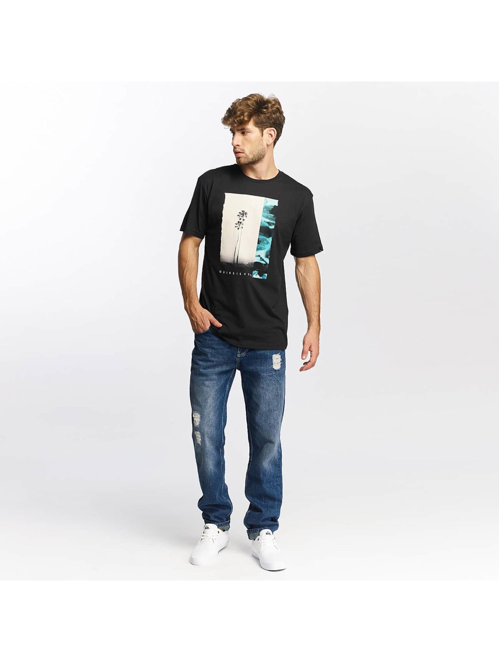 Quiksilver T-skjorter Classic Meridian svart