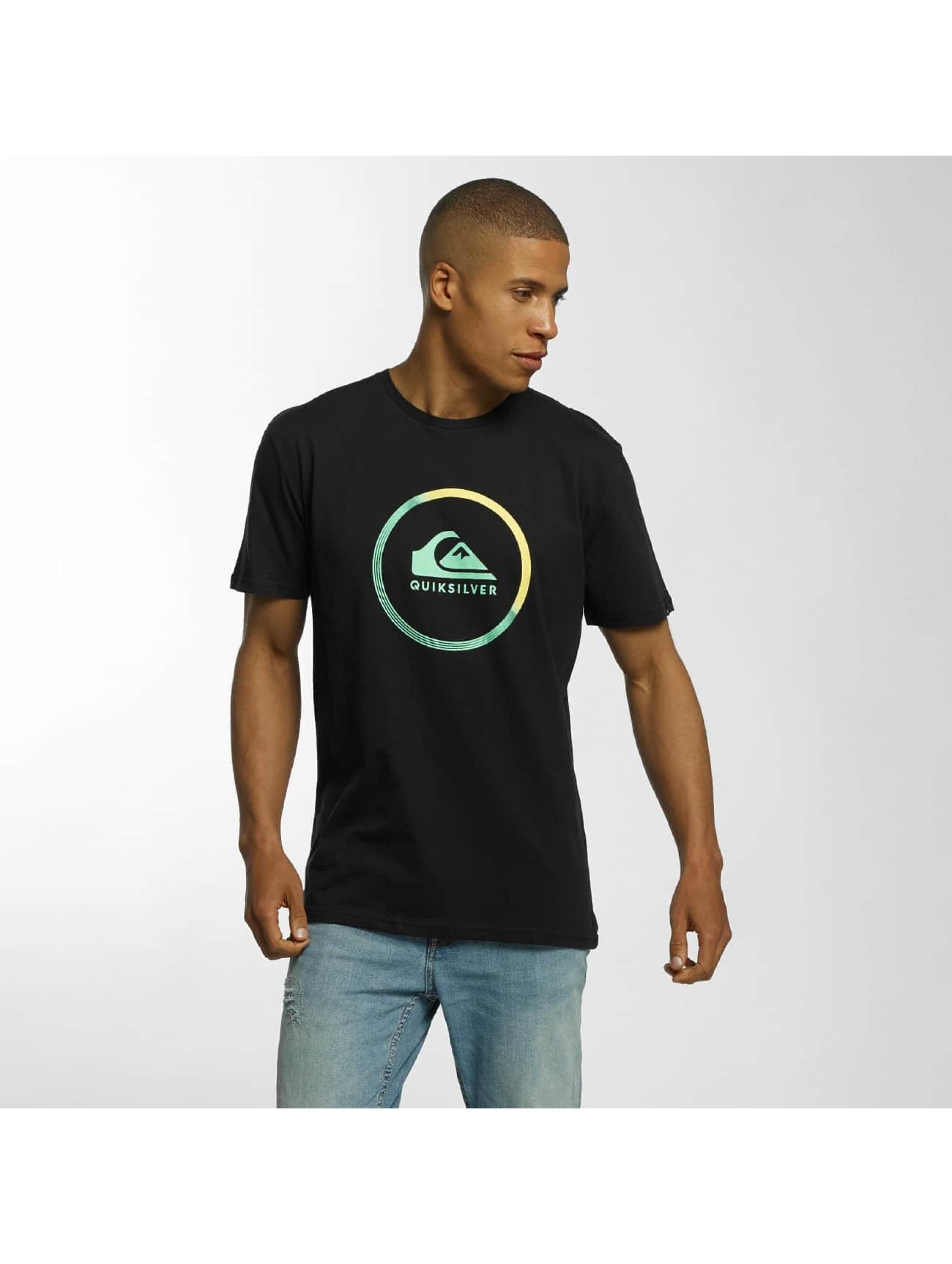 Quiksilver T-skjorter Classic Active Logo svart