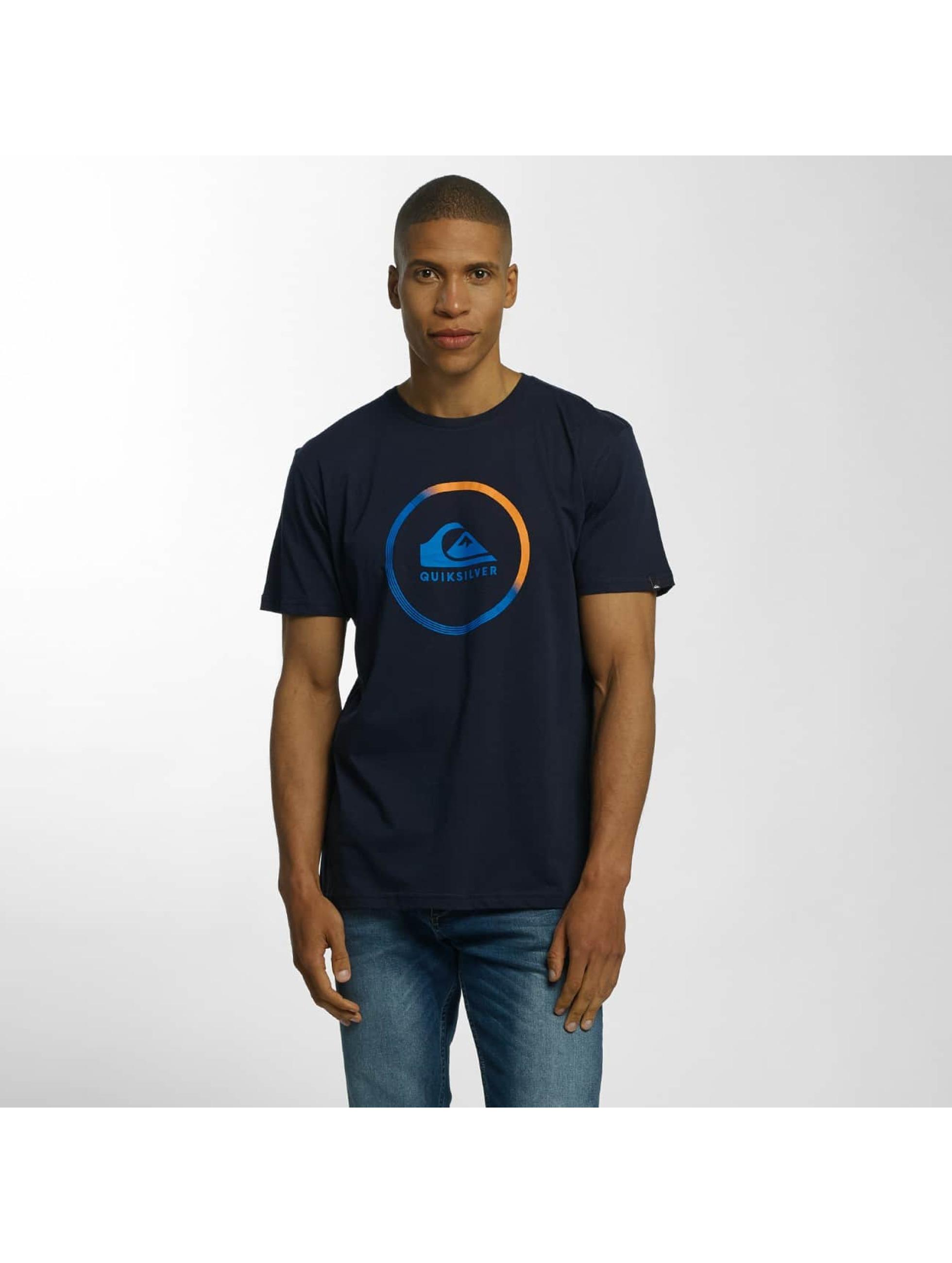 Quiksilver Tričká Classic Active Logo modrá