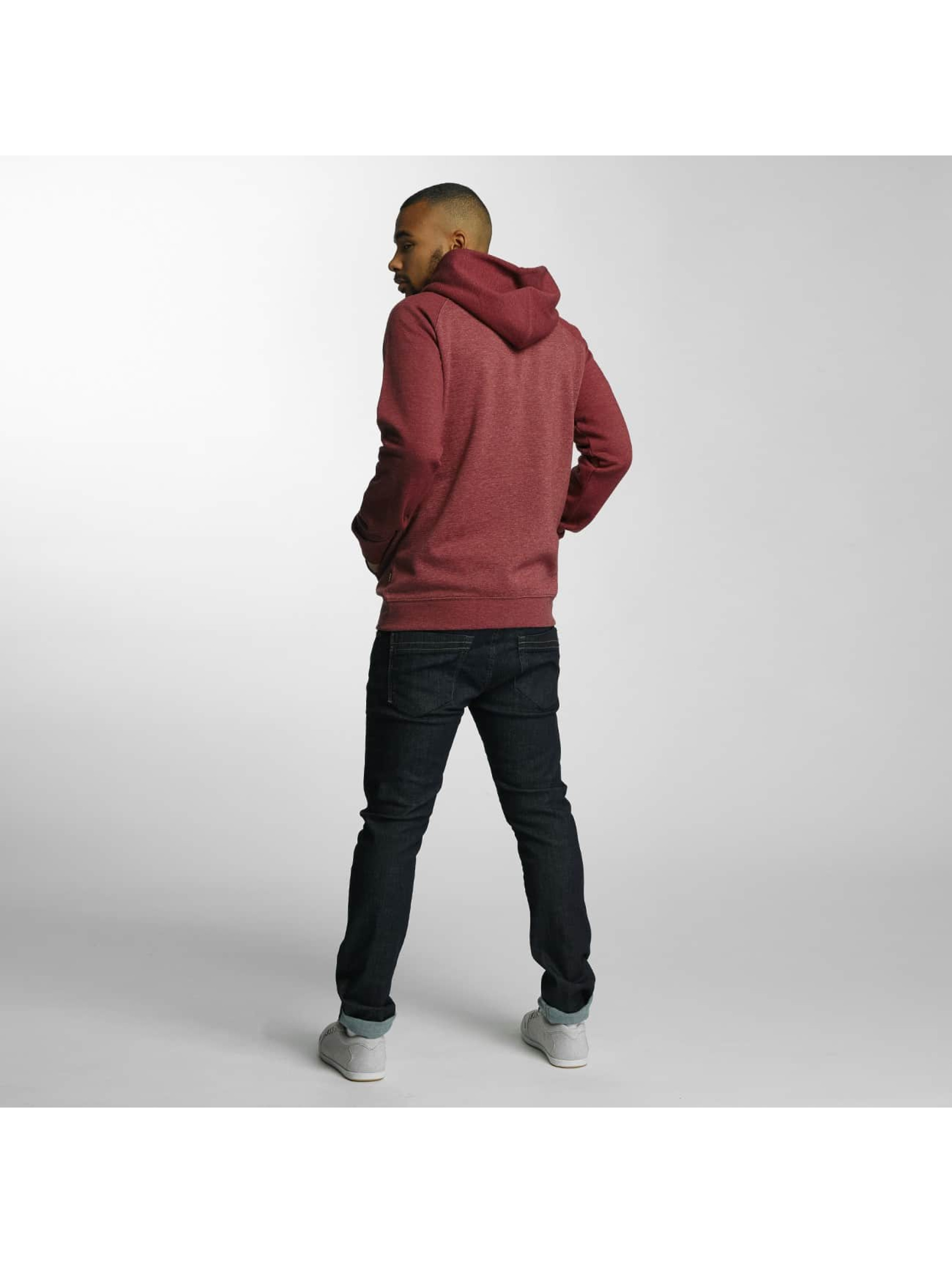 Quiksilver Zip Hoodie Everyday red