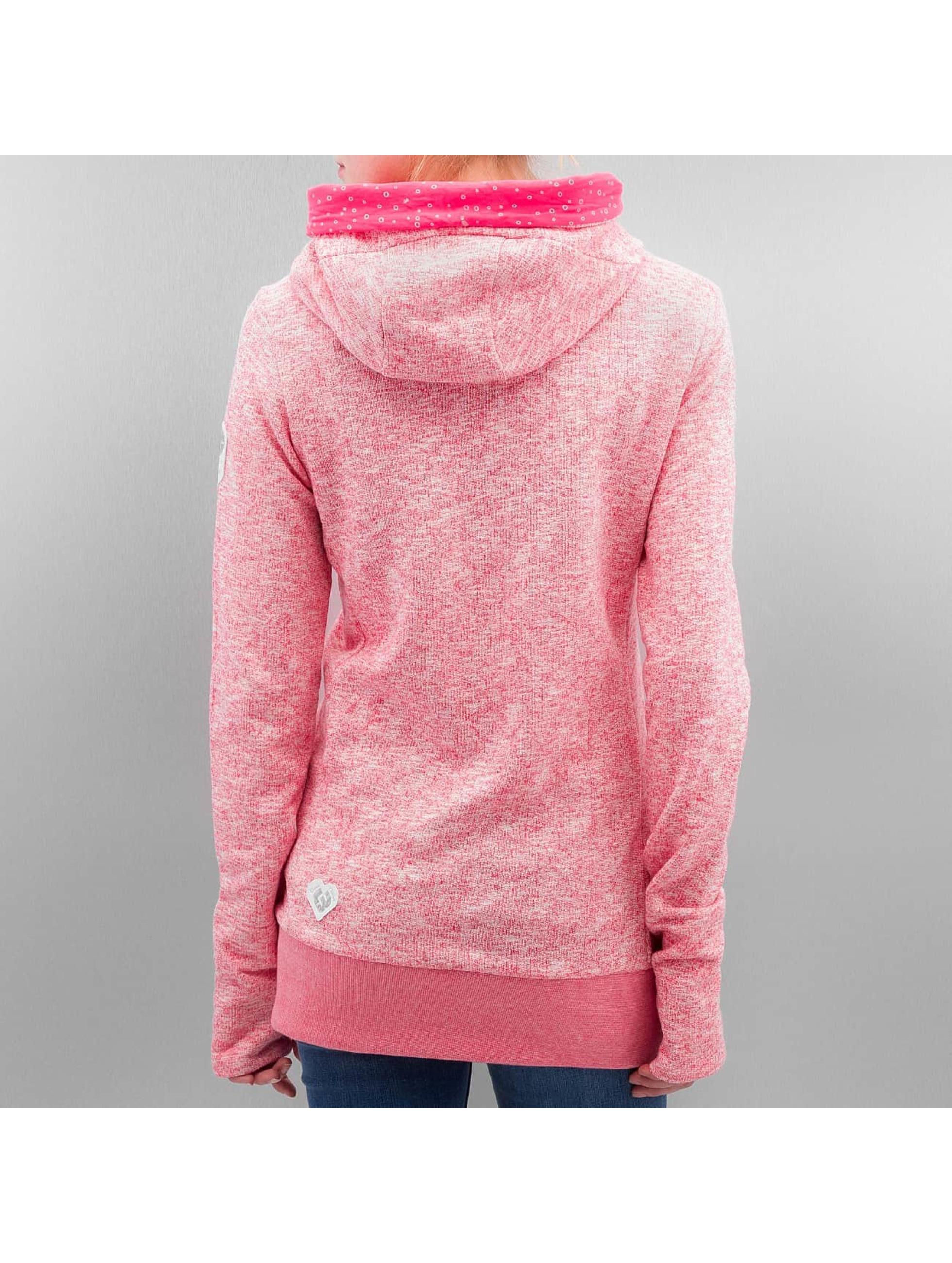 Ragwear Hoodie Cara Organic pink