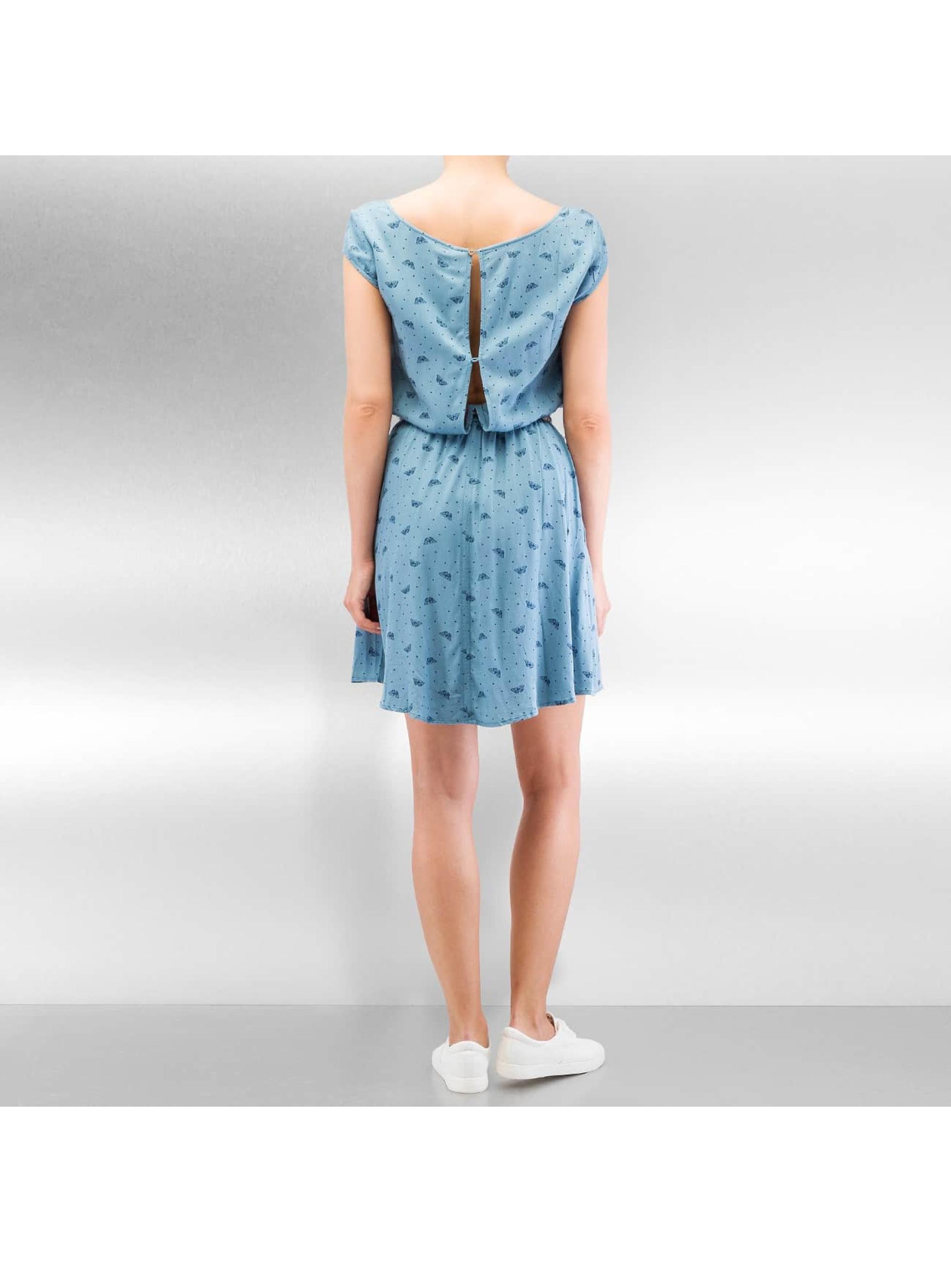 ragwear damen kleid zephie in blau 306245. Black Bedroom Furniture Sets. Home Design Ideas