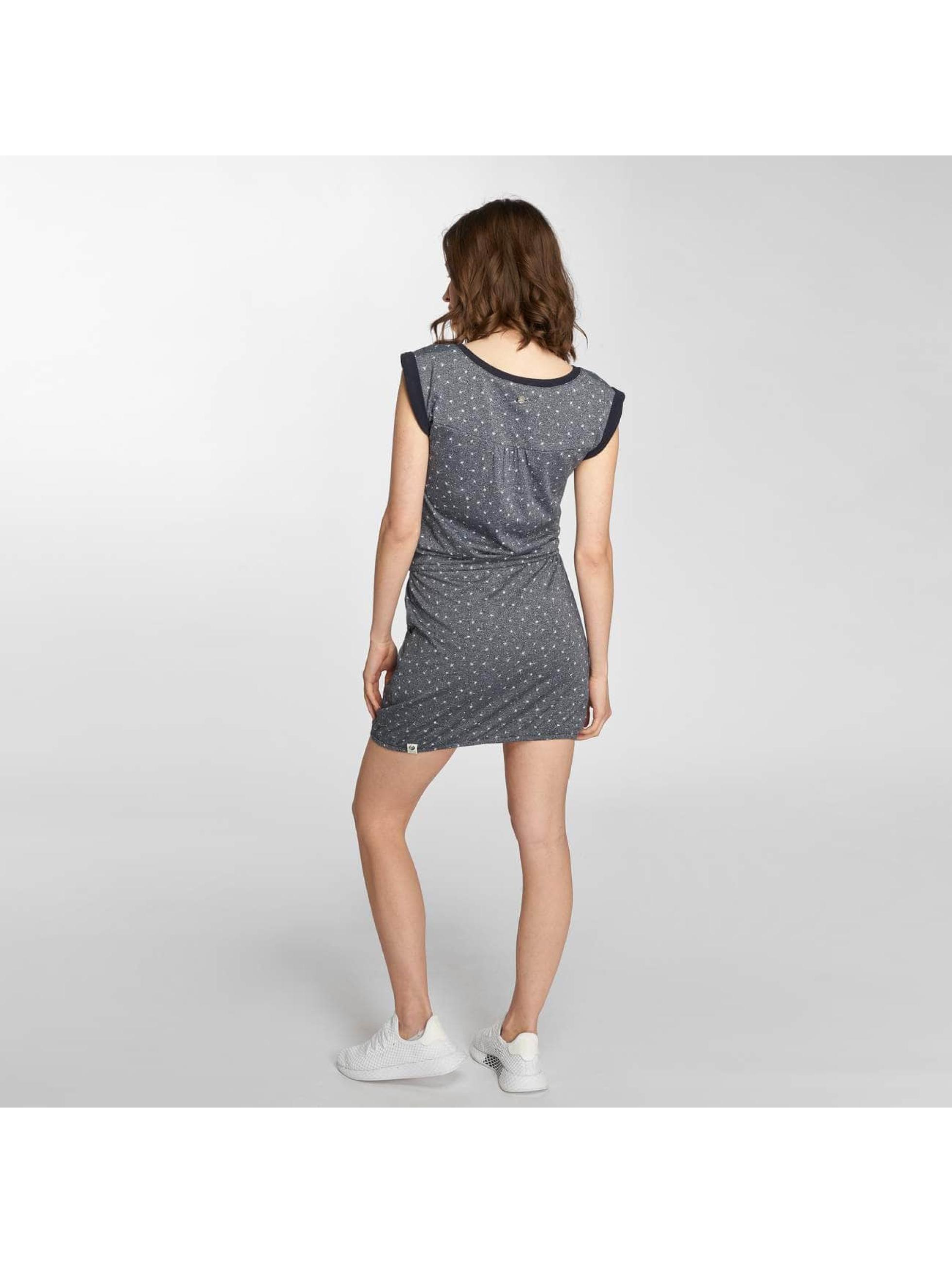 Ragwear Kleid Giza Organic blau