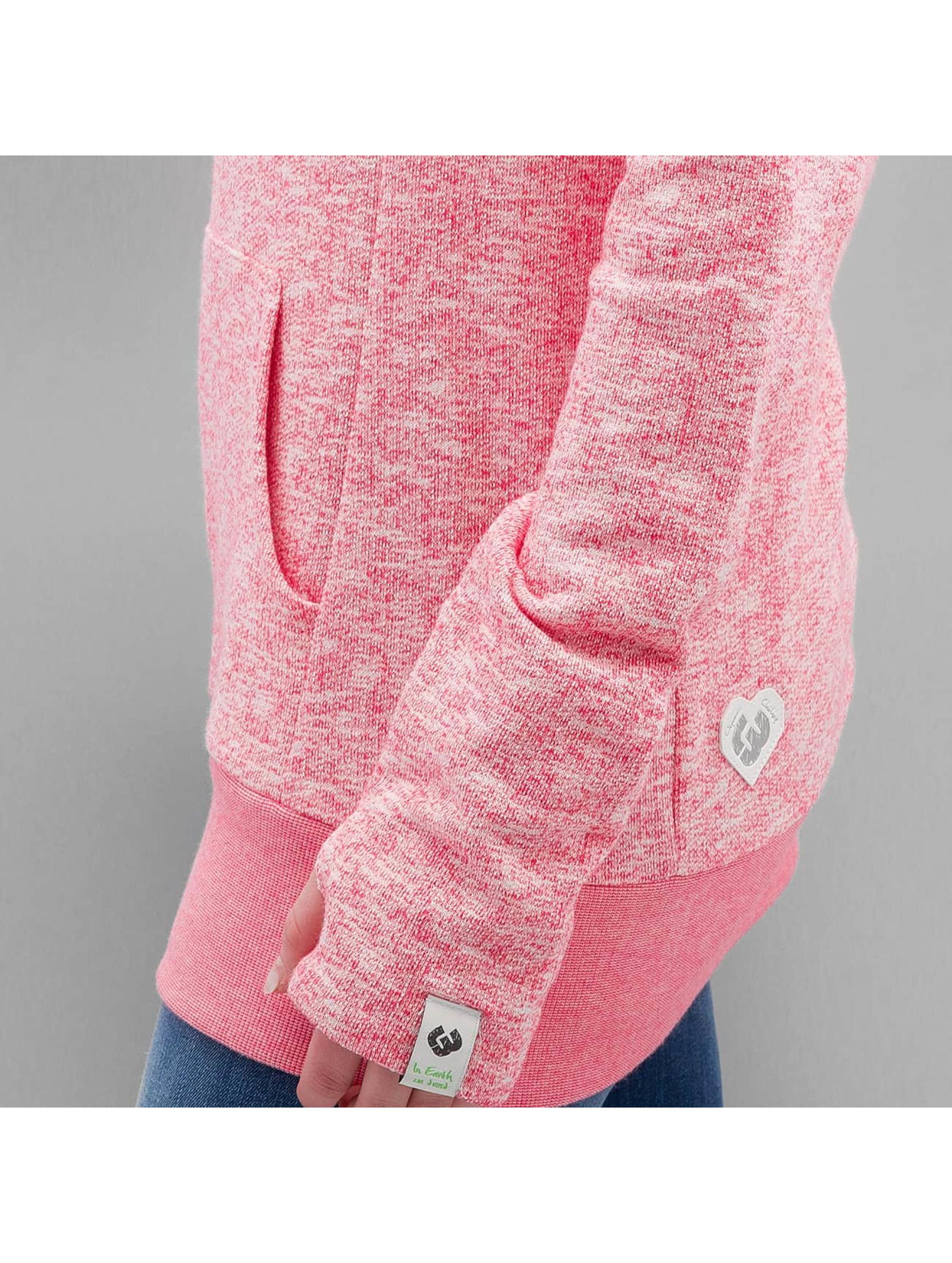 Ragwear Mikiny Cara Organic pink