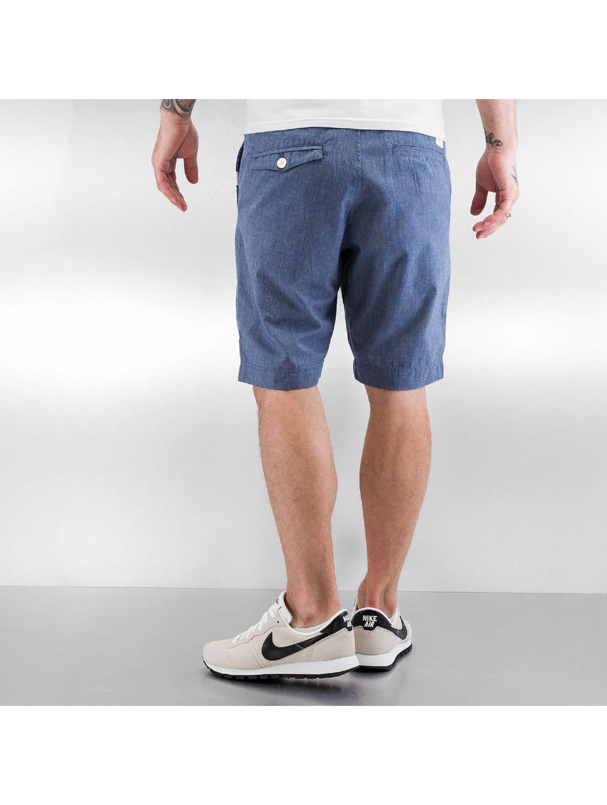 Ragwear Short Karel Microchecks blue