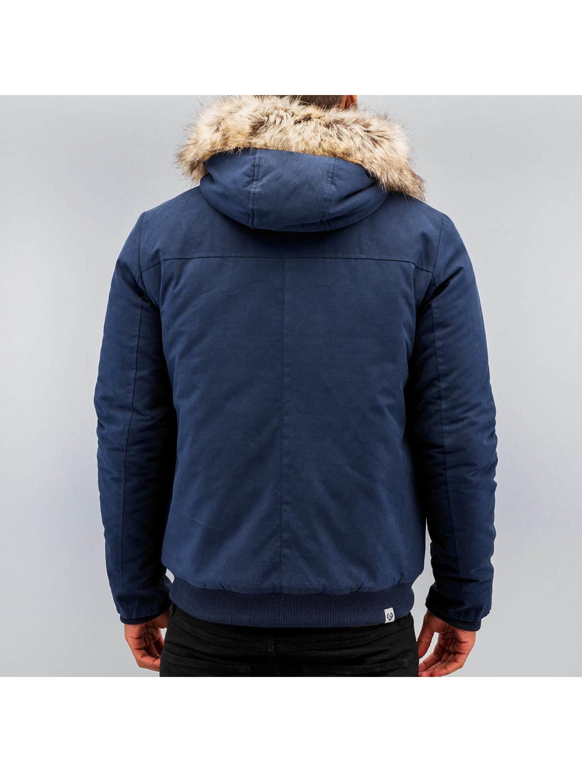 Ragwear winterjas Dock blauw