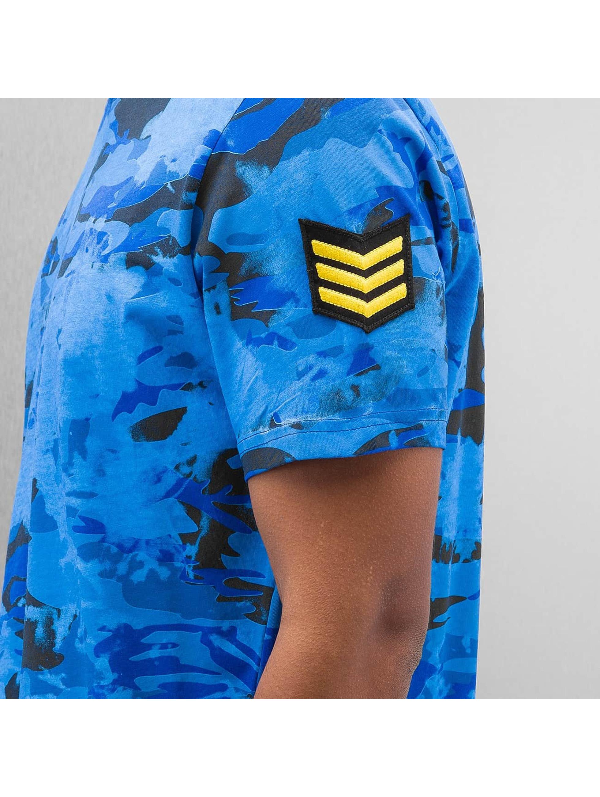 Red Bridge Camiseta Combat azul