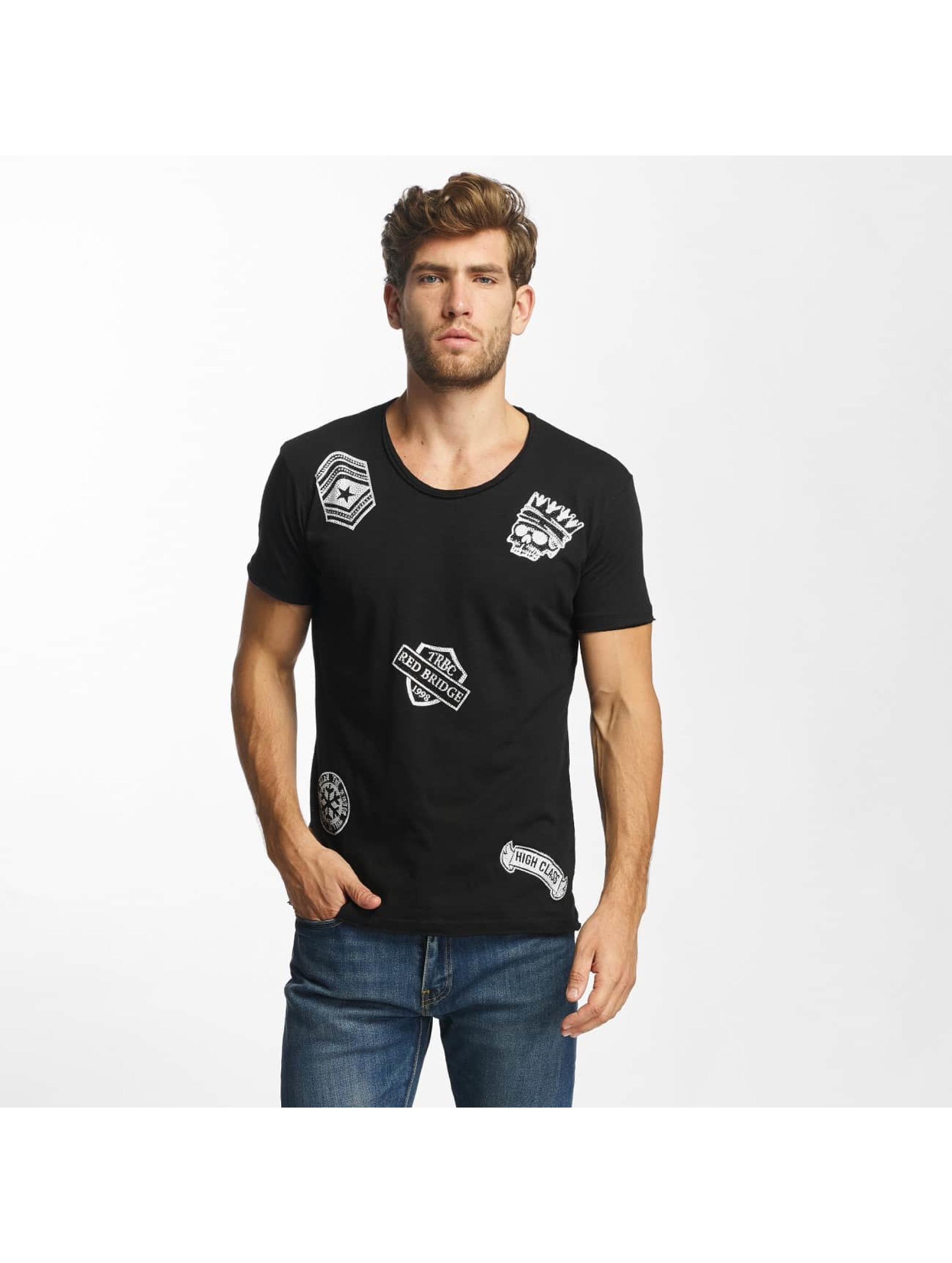 Red Bridge Camiseta Noble Skull negro