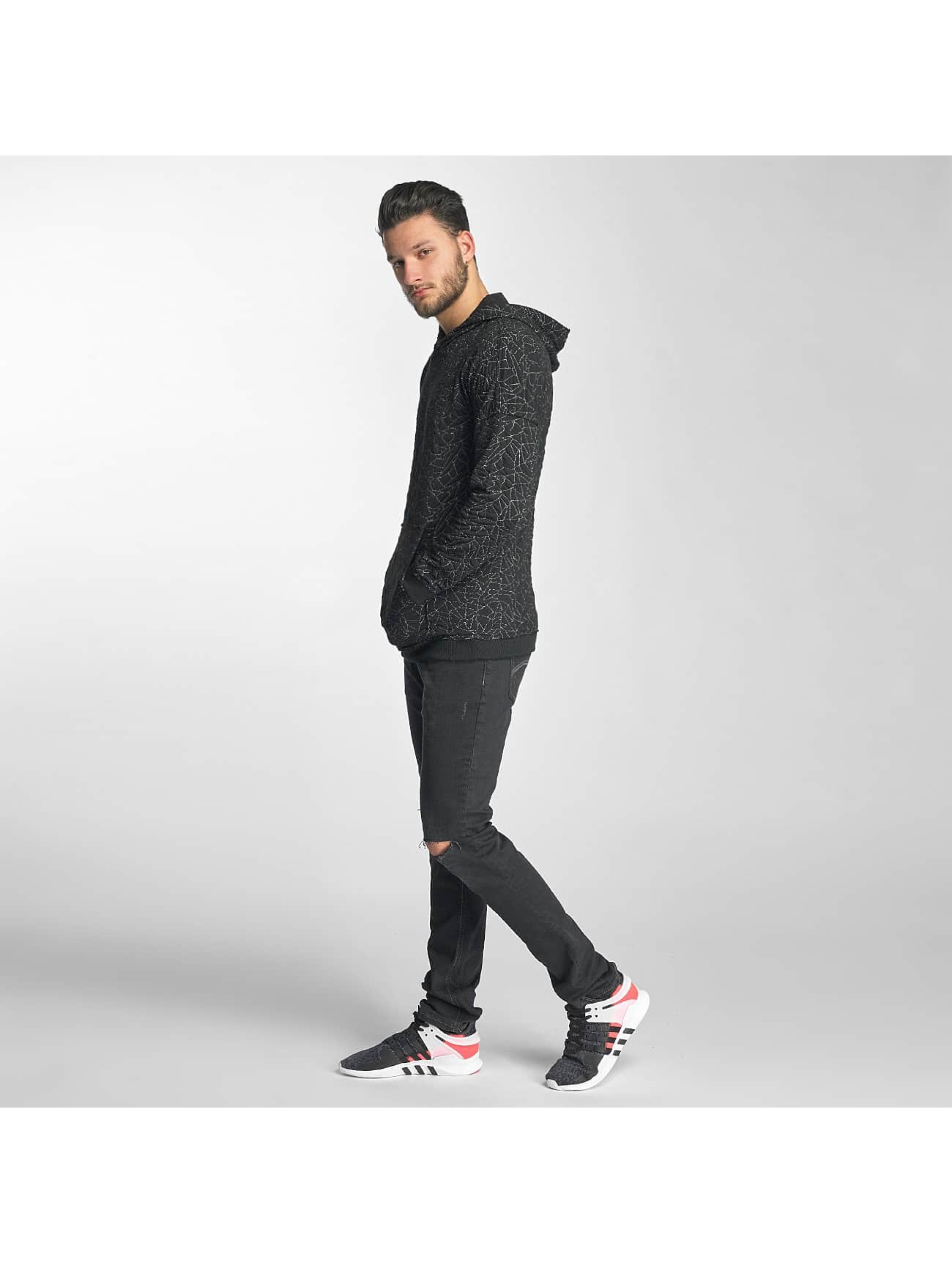 Red Bridge Hoodie Sharp Shards black