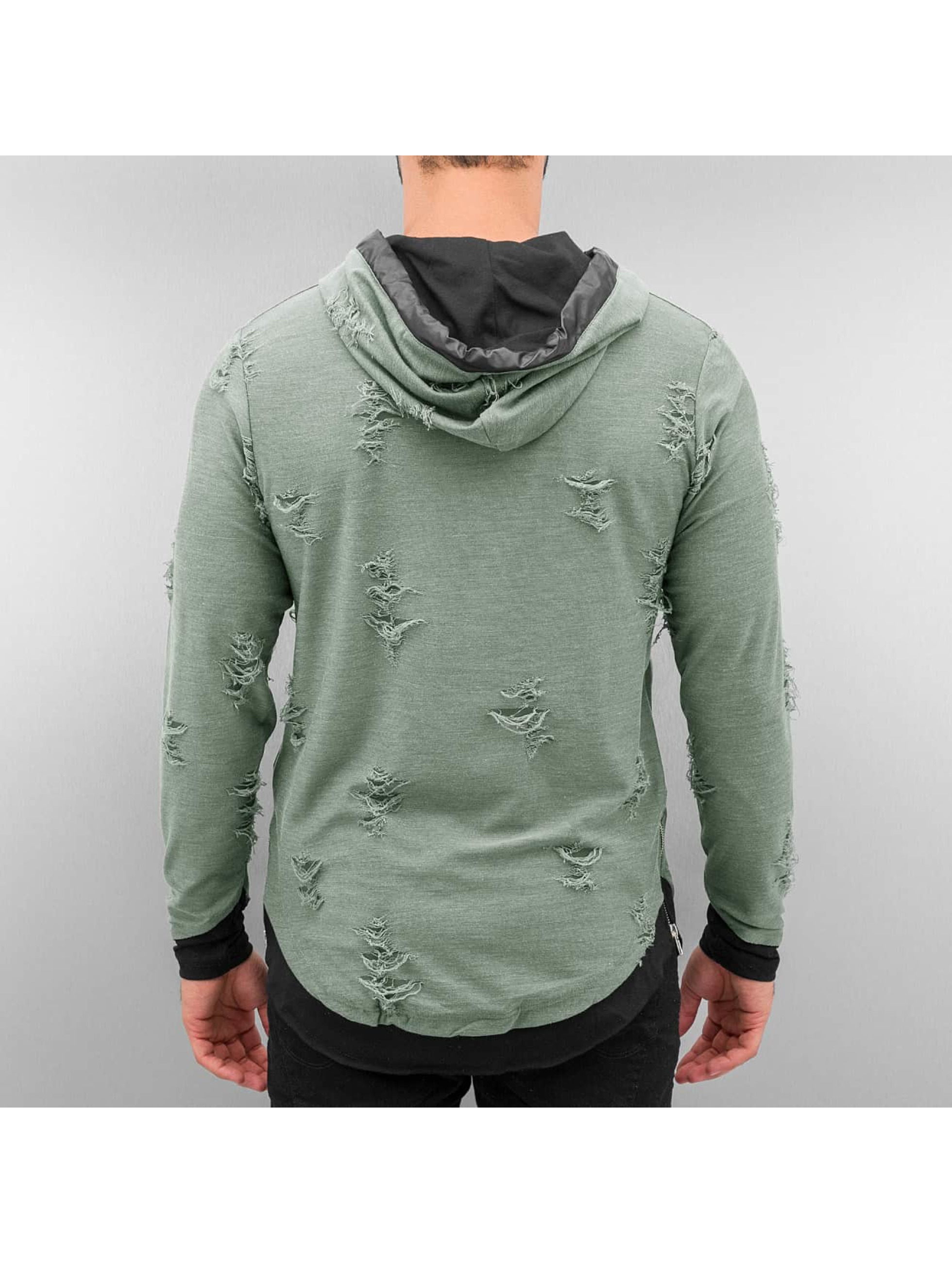 Red Bridge Hoodie Destroyed khaki