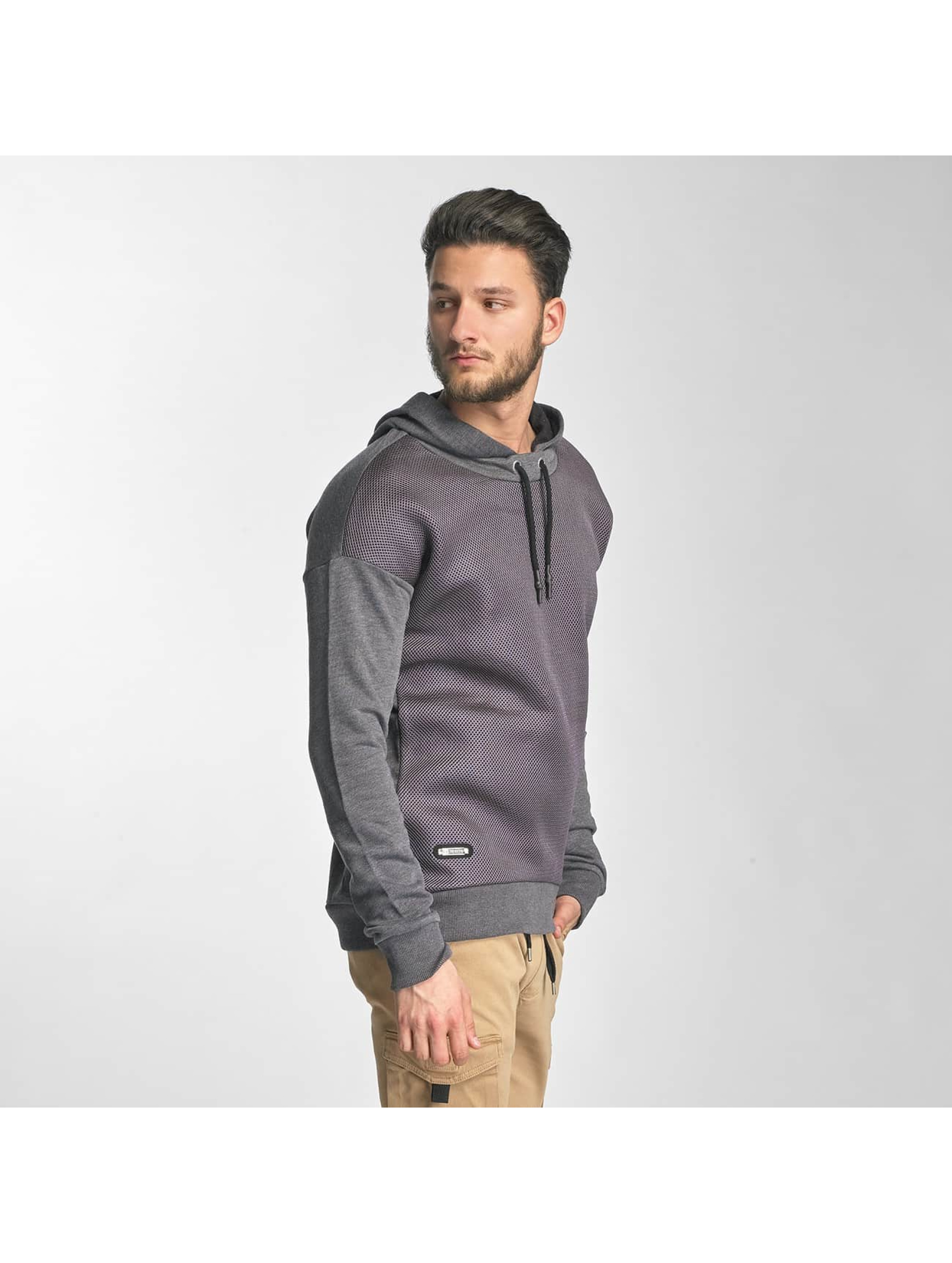 Red Bridge Hoody Carbon Network grijs