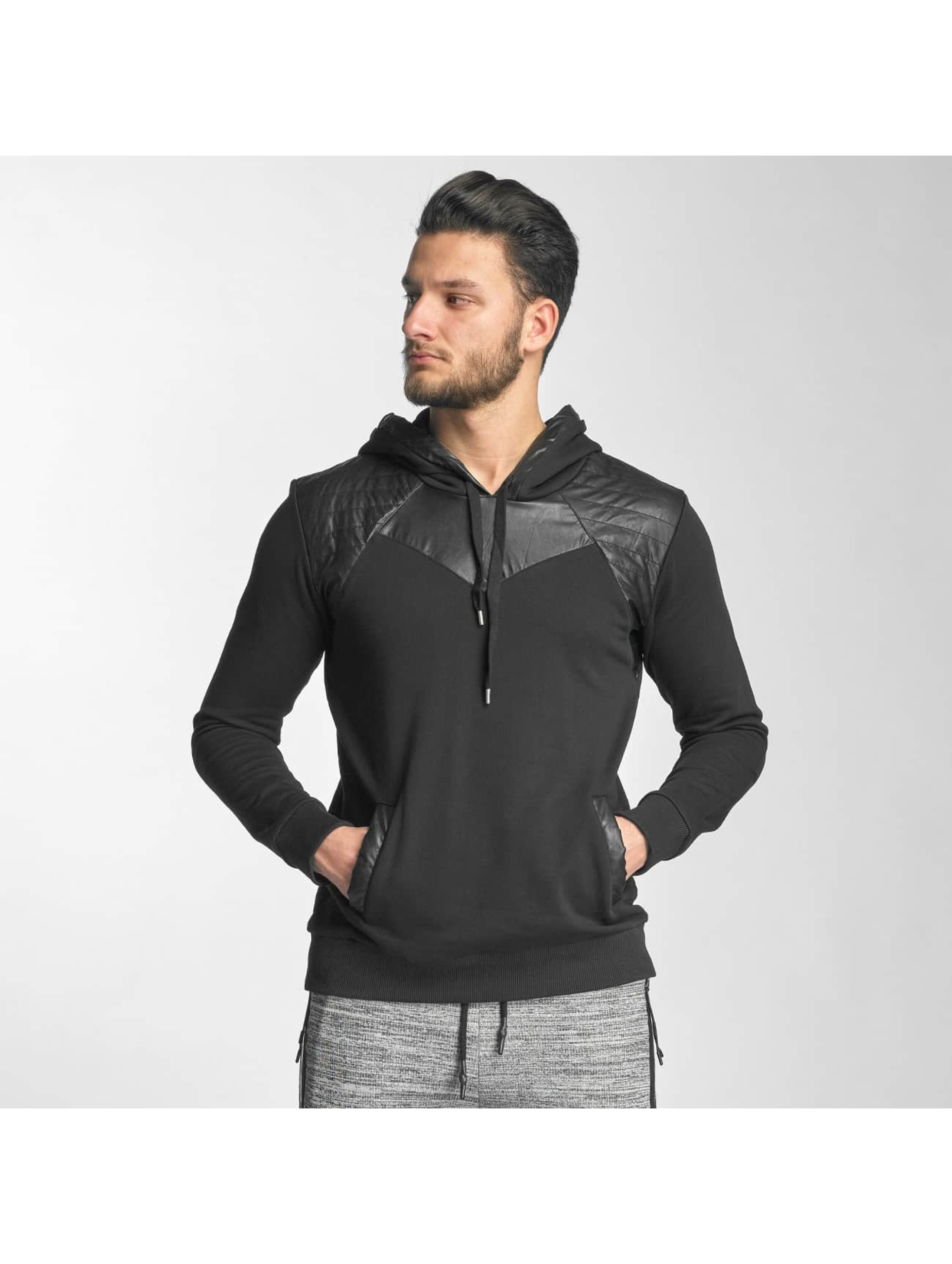 Red Bridge Hoody PU schwarz