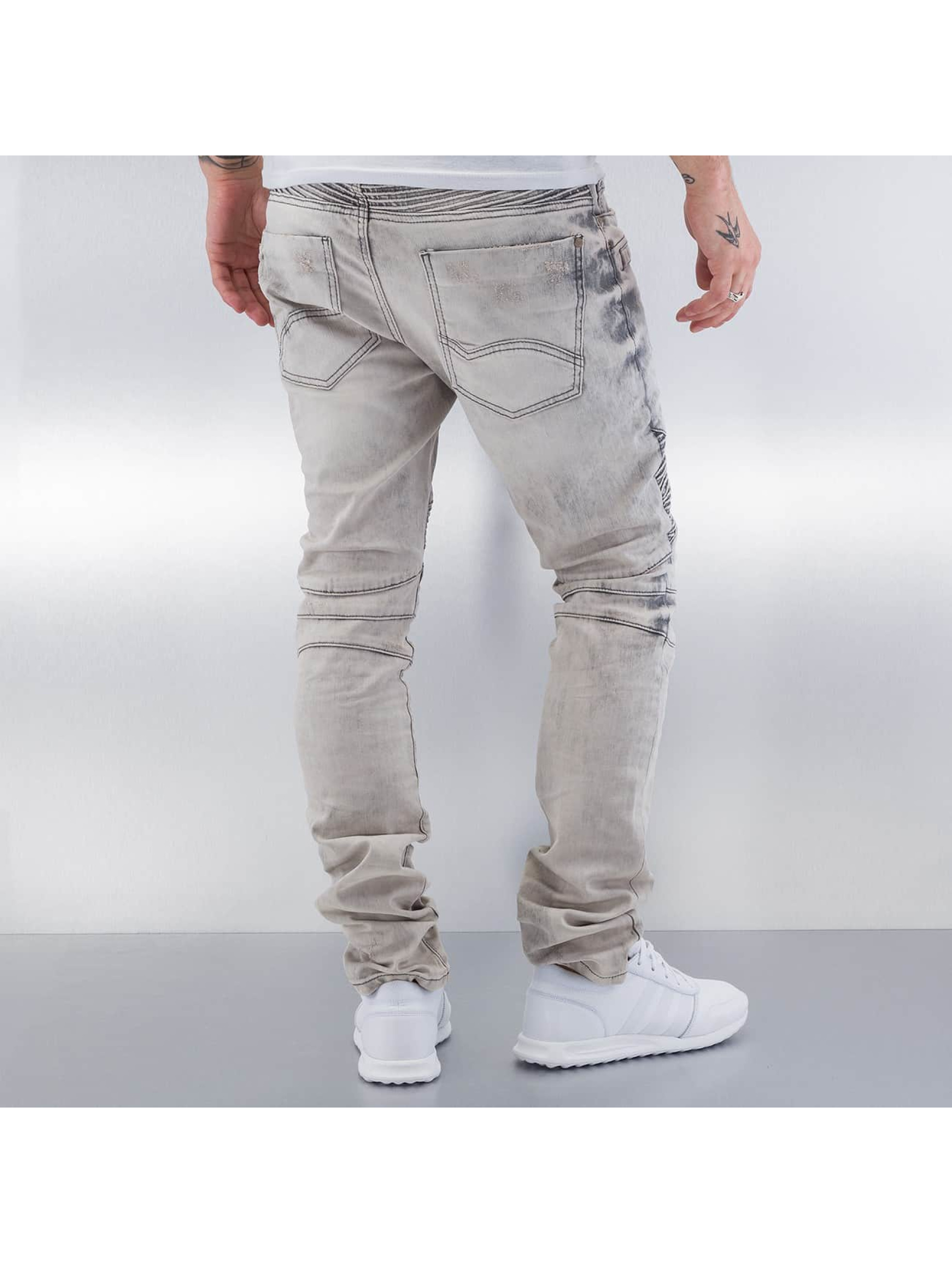 Red Bridge Jean coupe droite Dirrty Biker gris