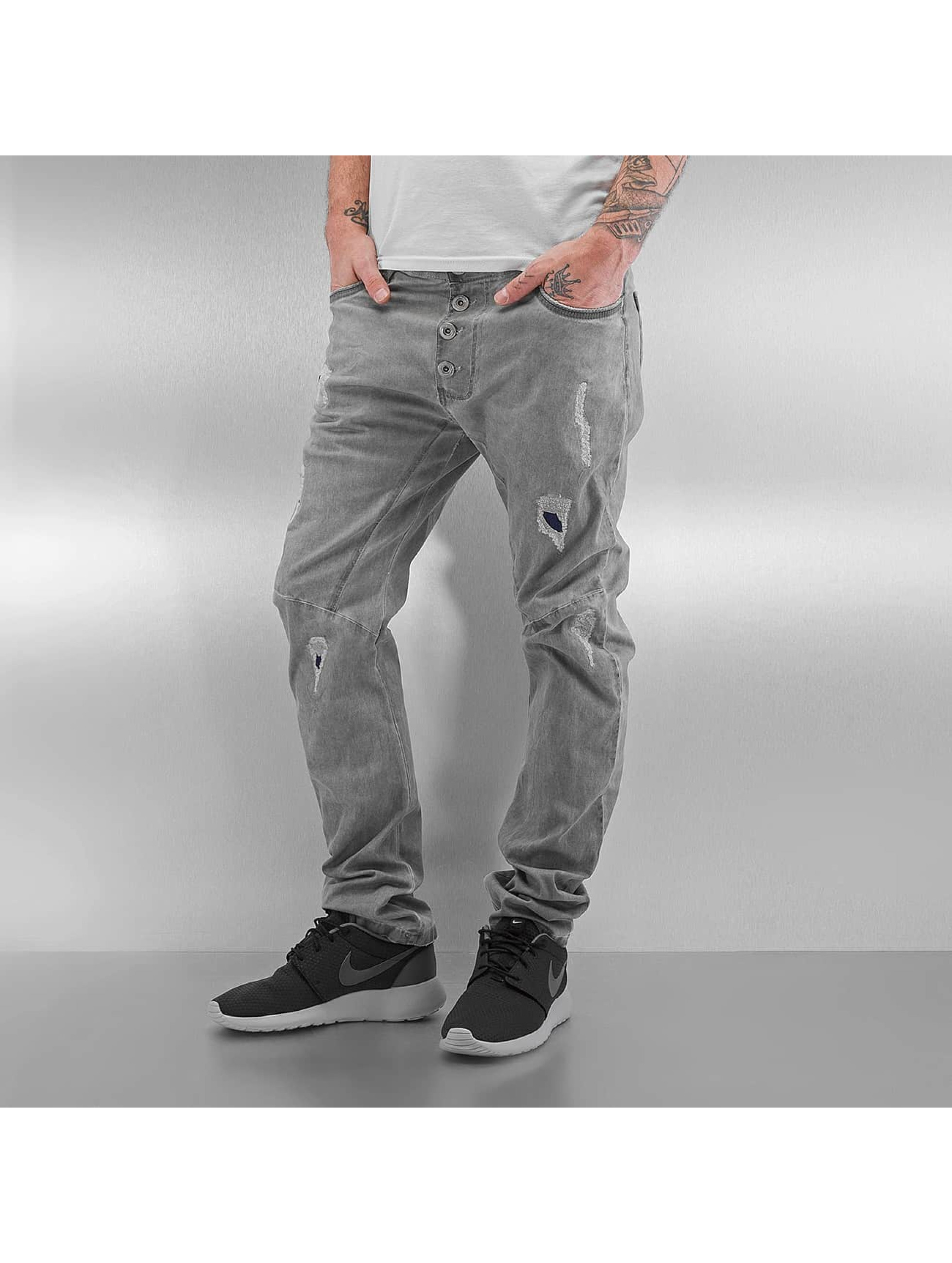 Red Bridge Jean coupe droite Used gris
