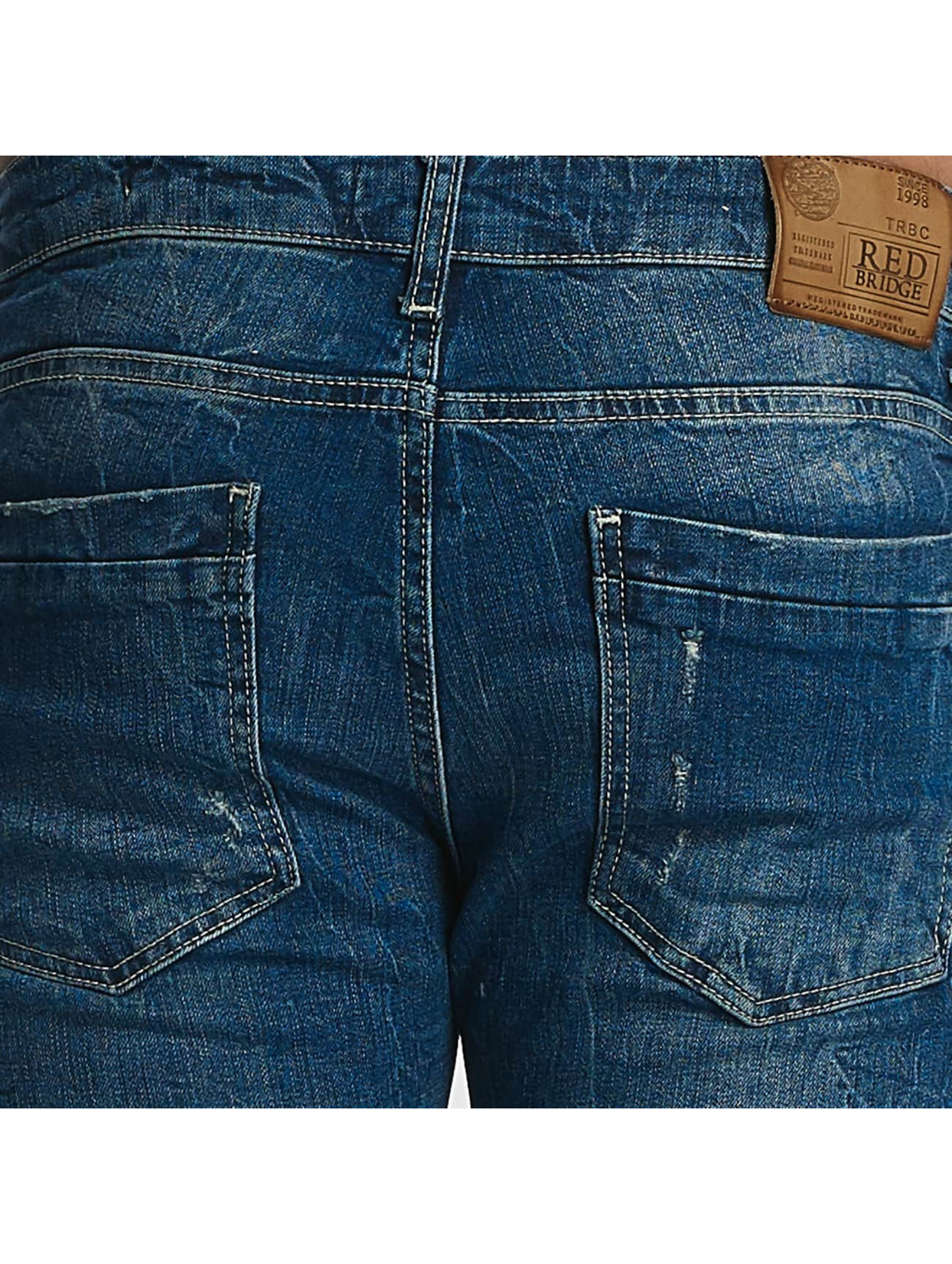 Red Bridge Jeans ajustado Inside Out Destroyed azul