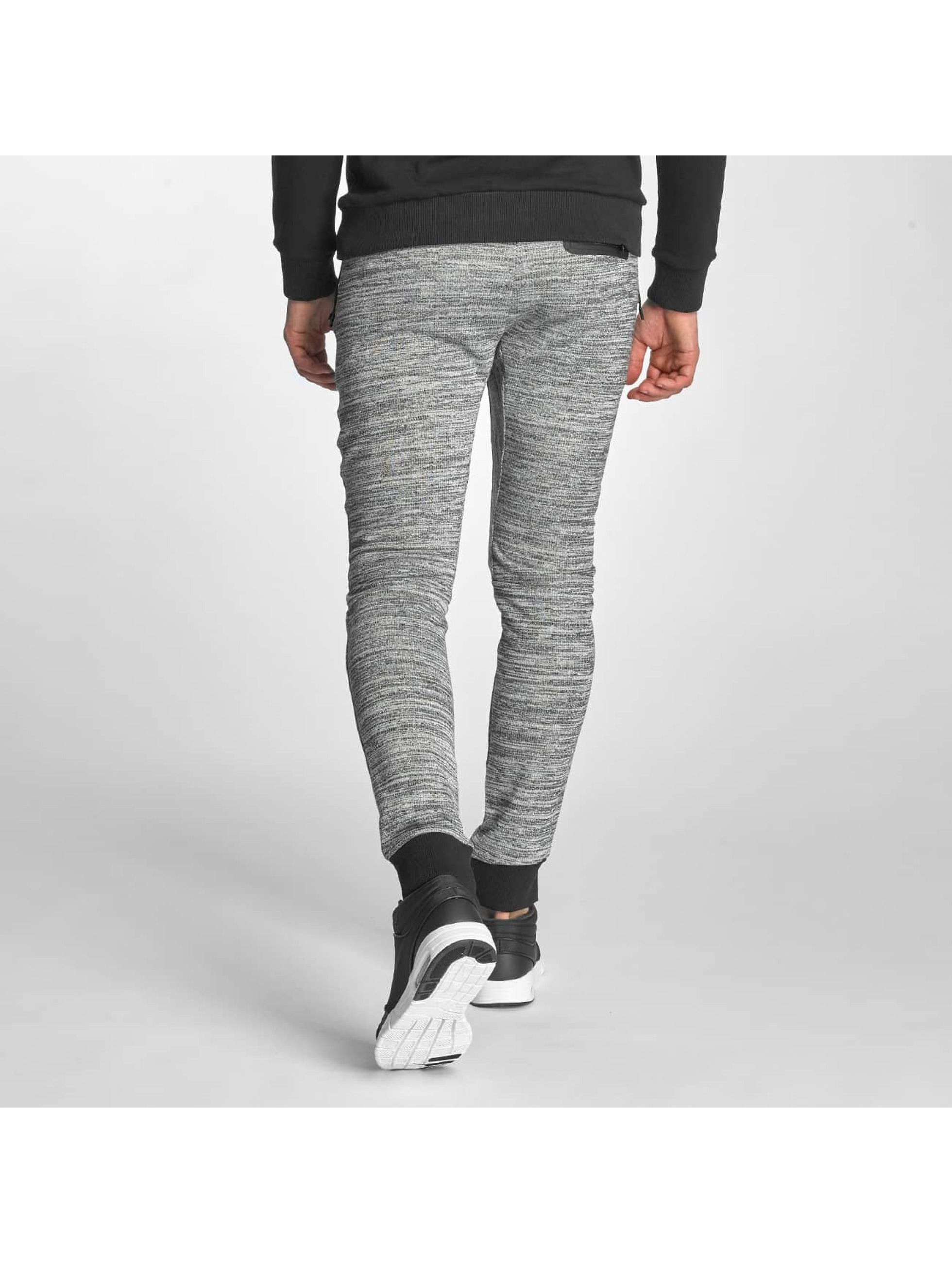 Red Bridge joggingbroek Melange grijs
