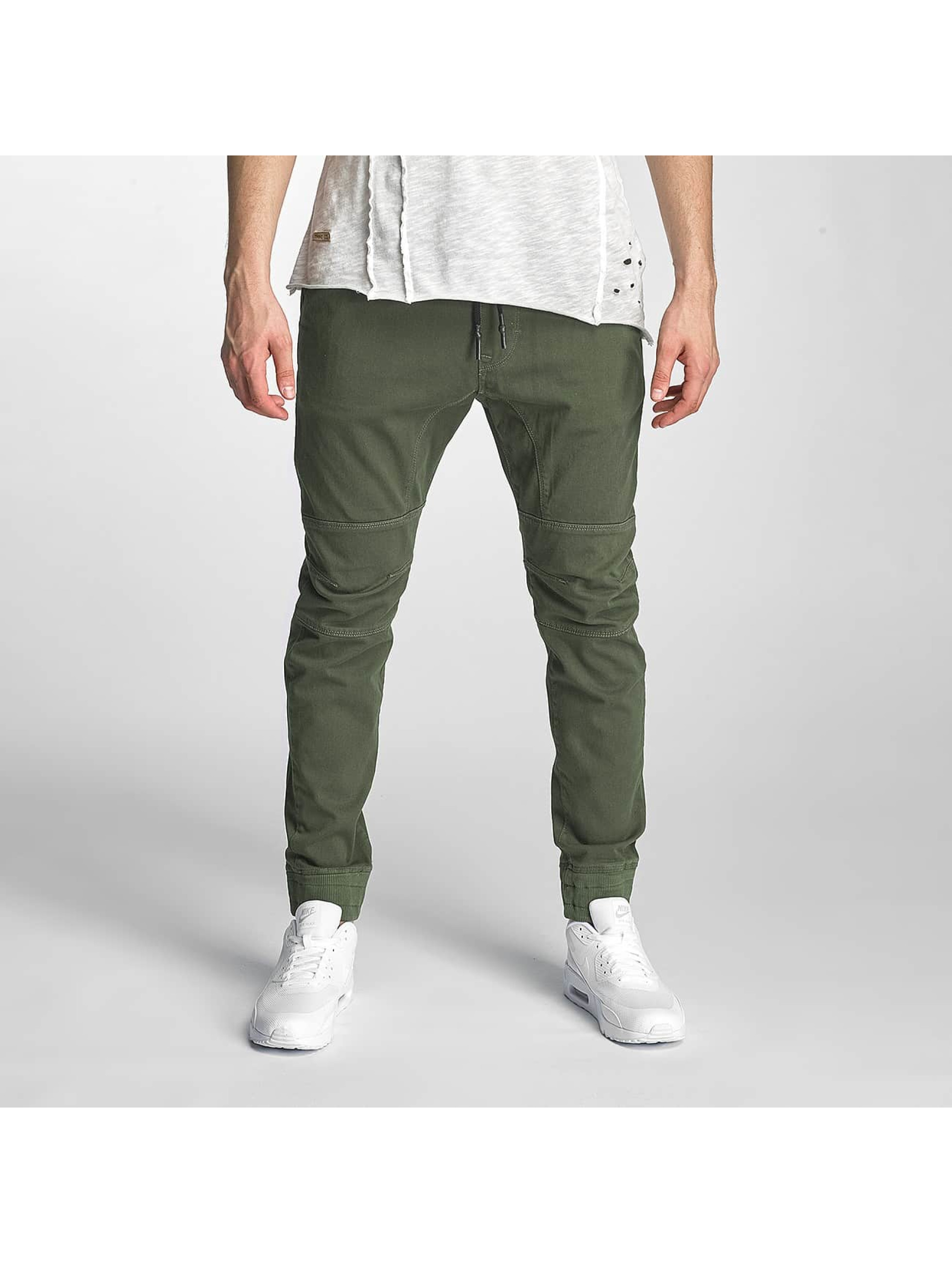 Red Bridge joggingbroek Schukow khaki
