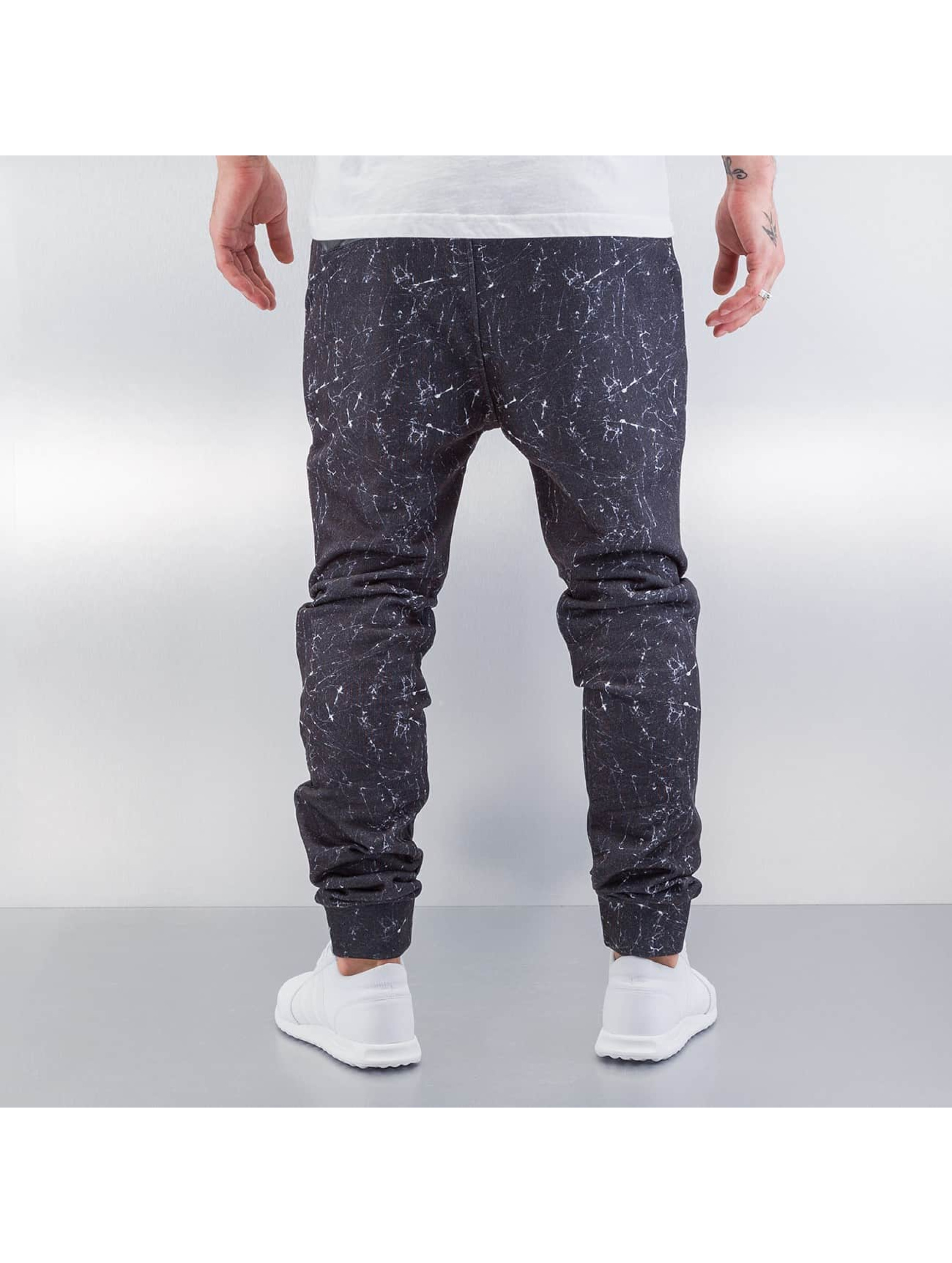 Red Bridge Jogginghose Marble schwarz
