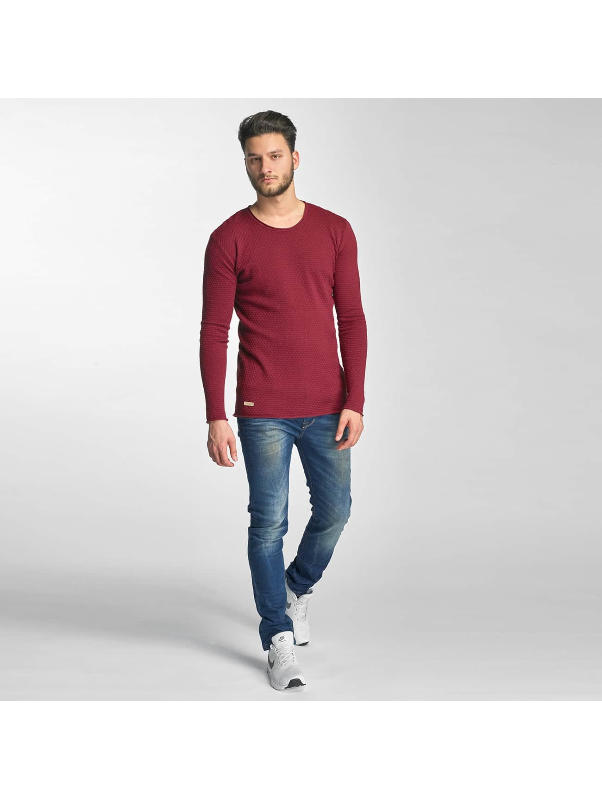 Red Bridge Jumper Checkered Royalty red