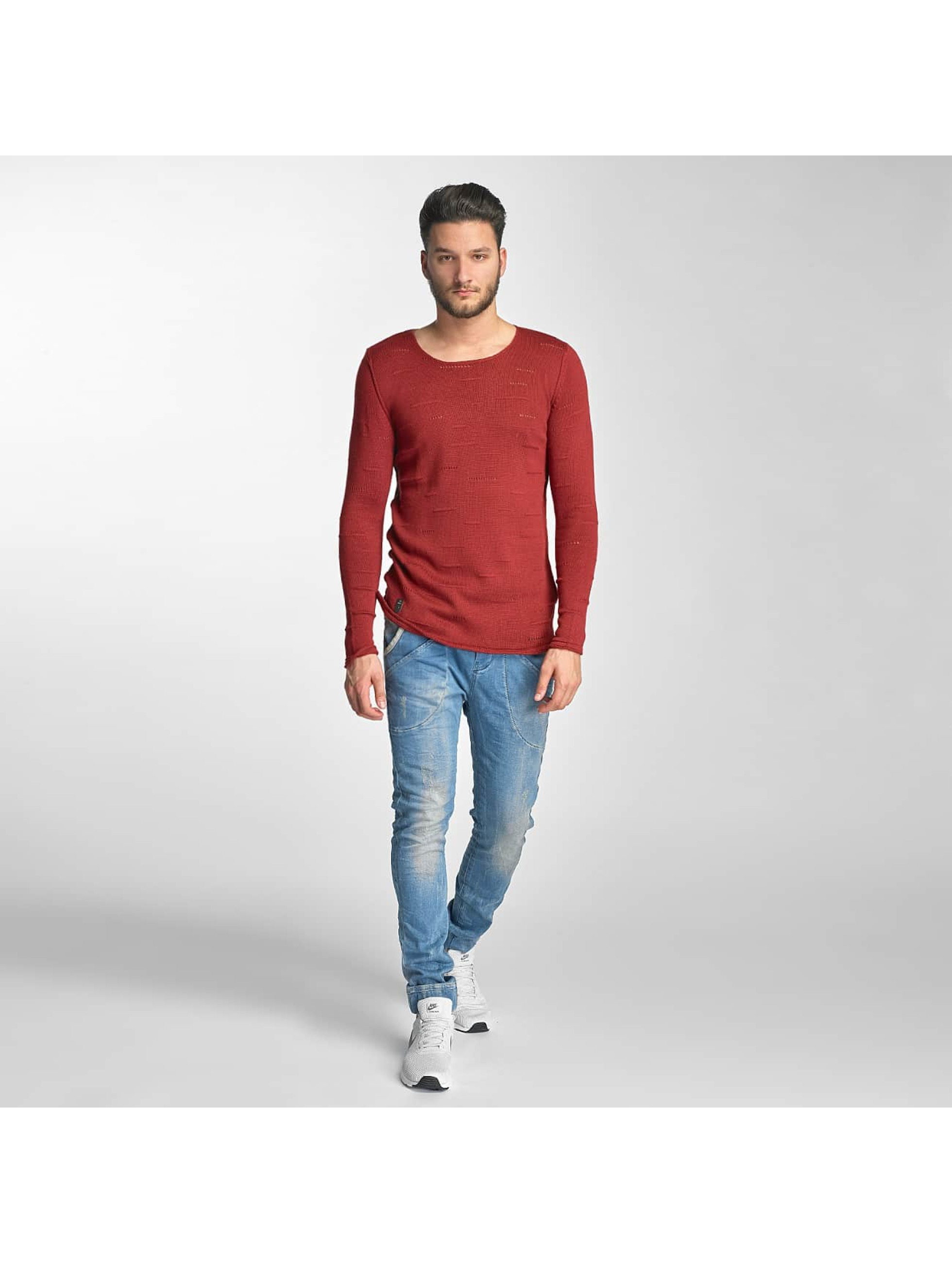 Red Bridge Jumper Knit red