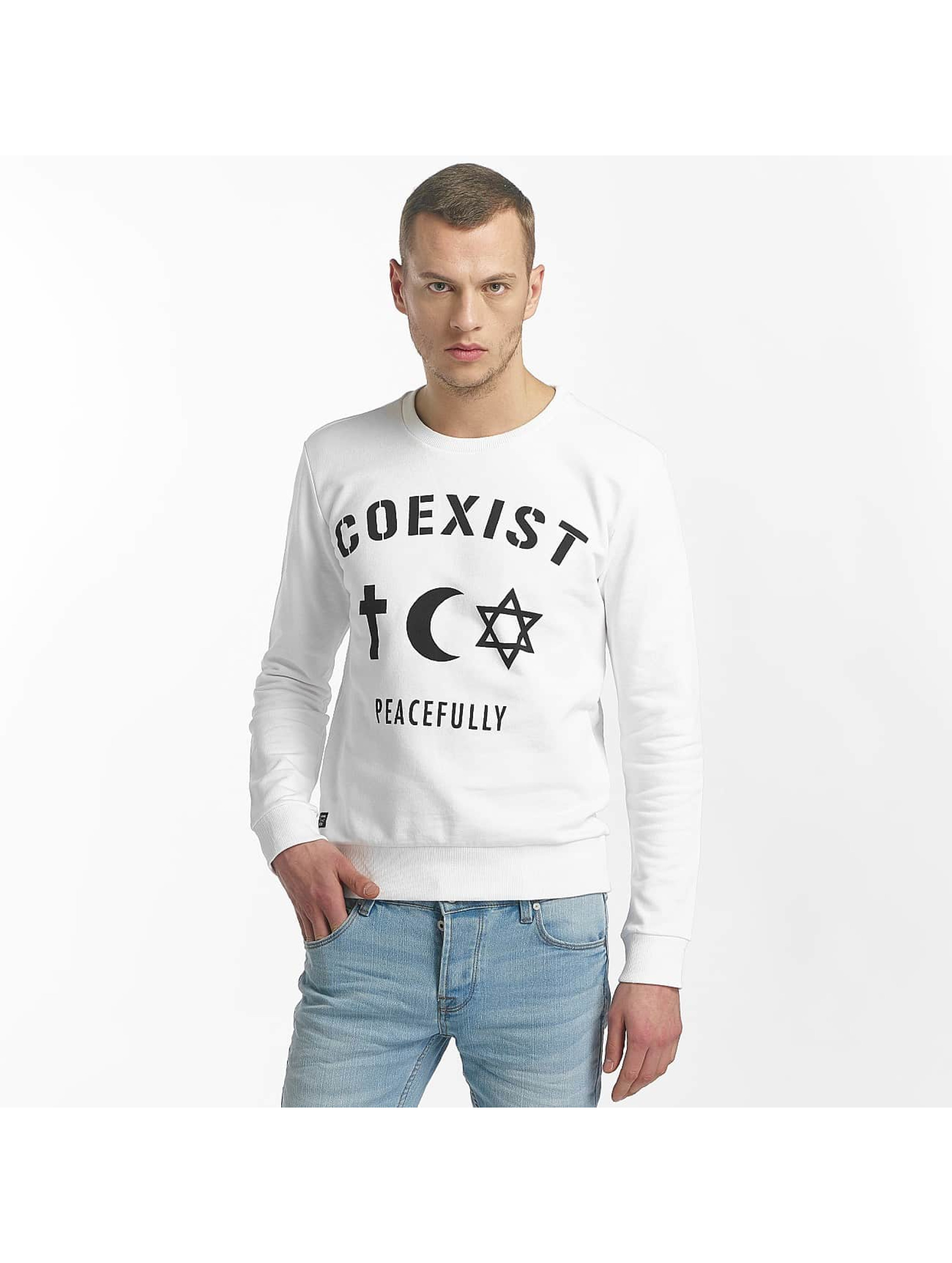 Red Bridge Longsleeve Coexist white