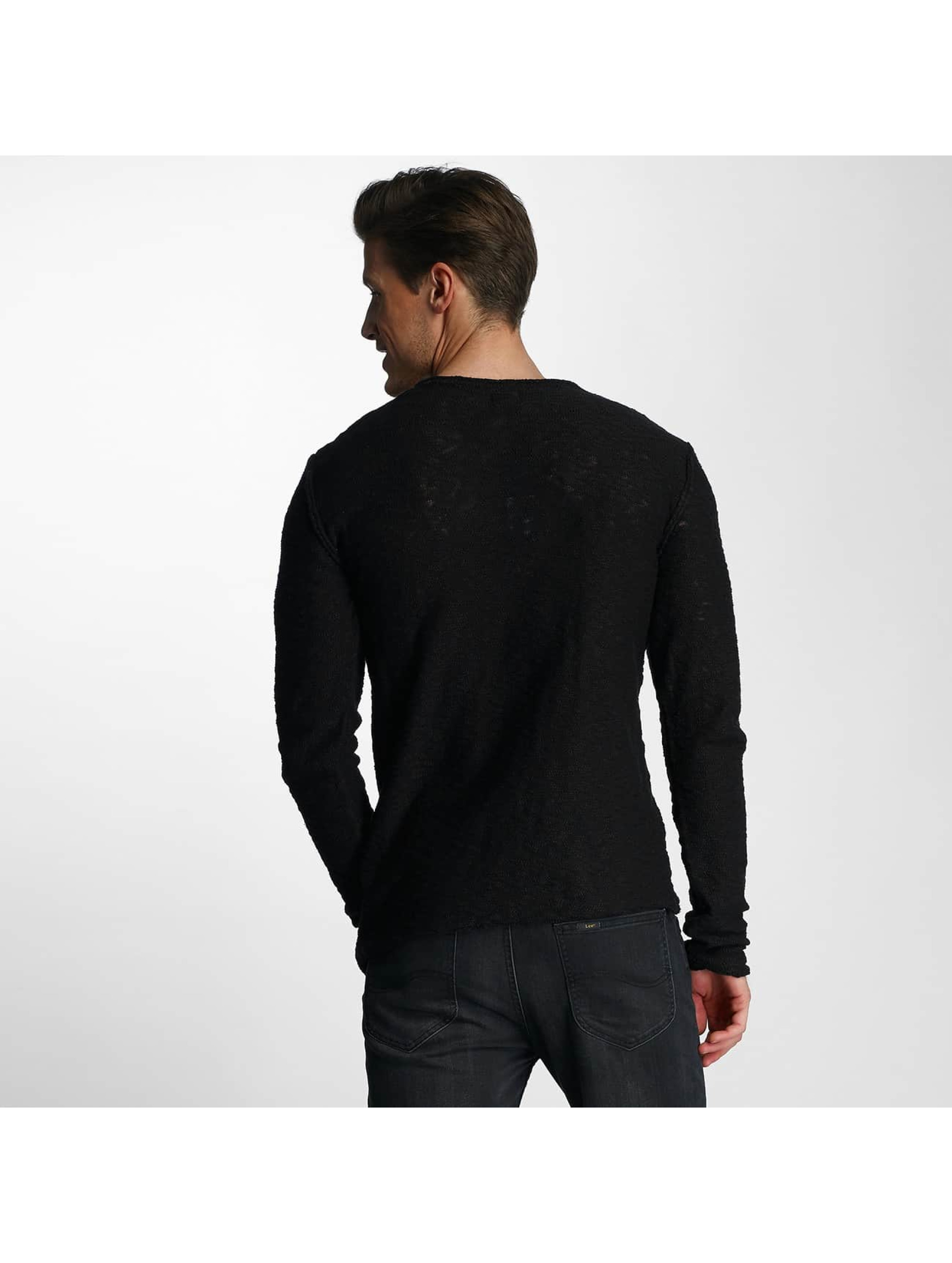 Red Bridge Pullover Asymmetrical Line black