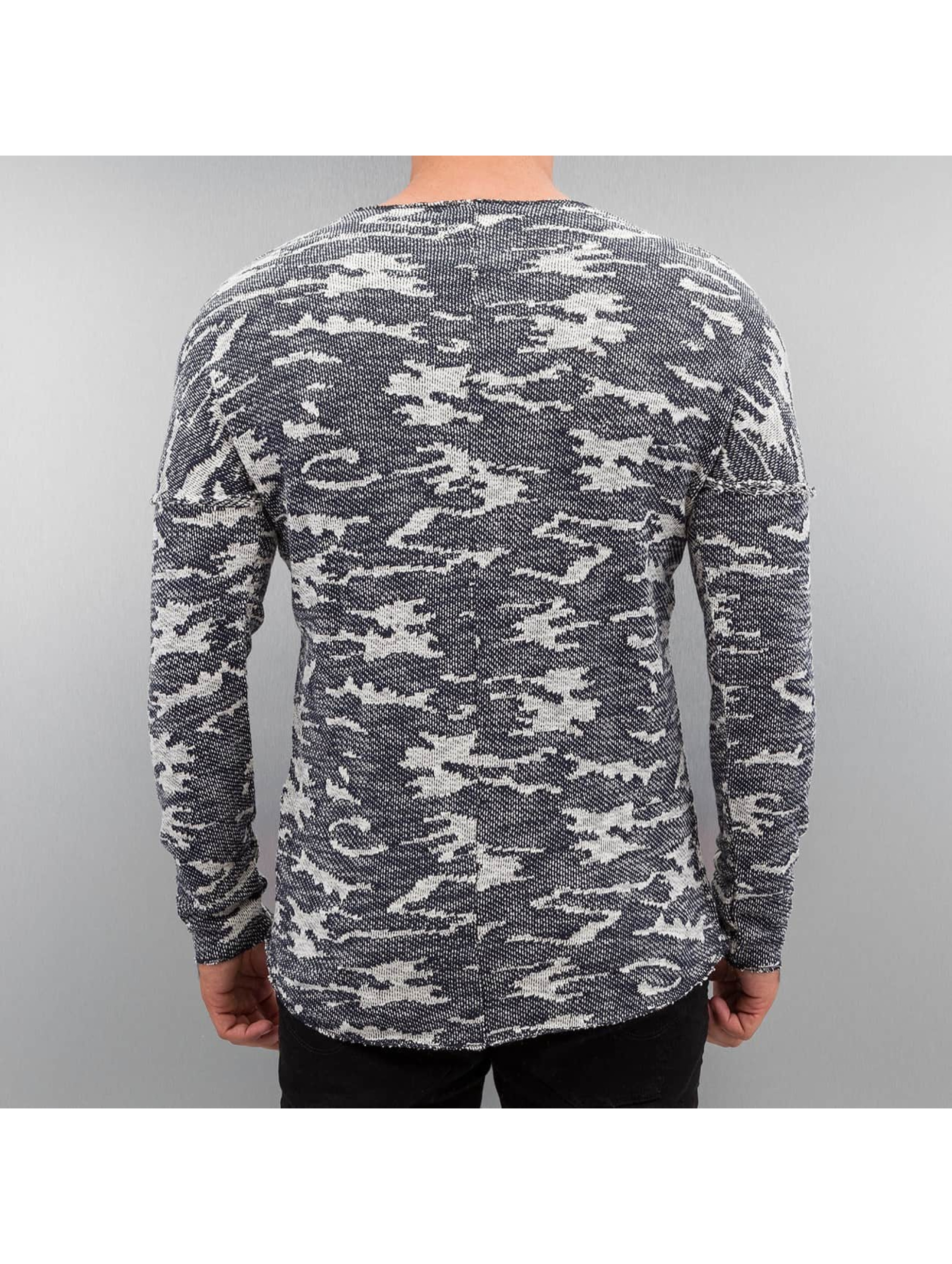 Red Bridge Pullover Knit Camo blau