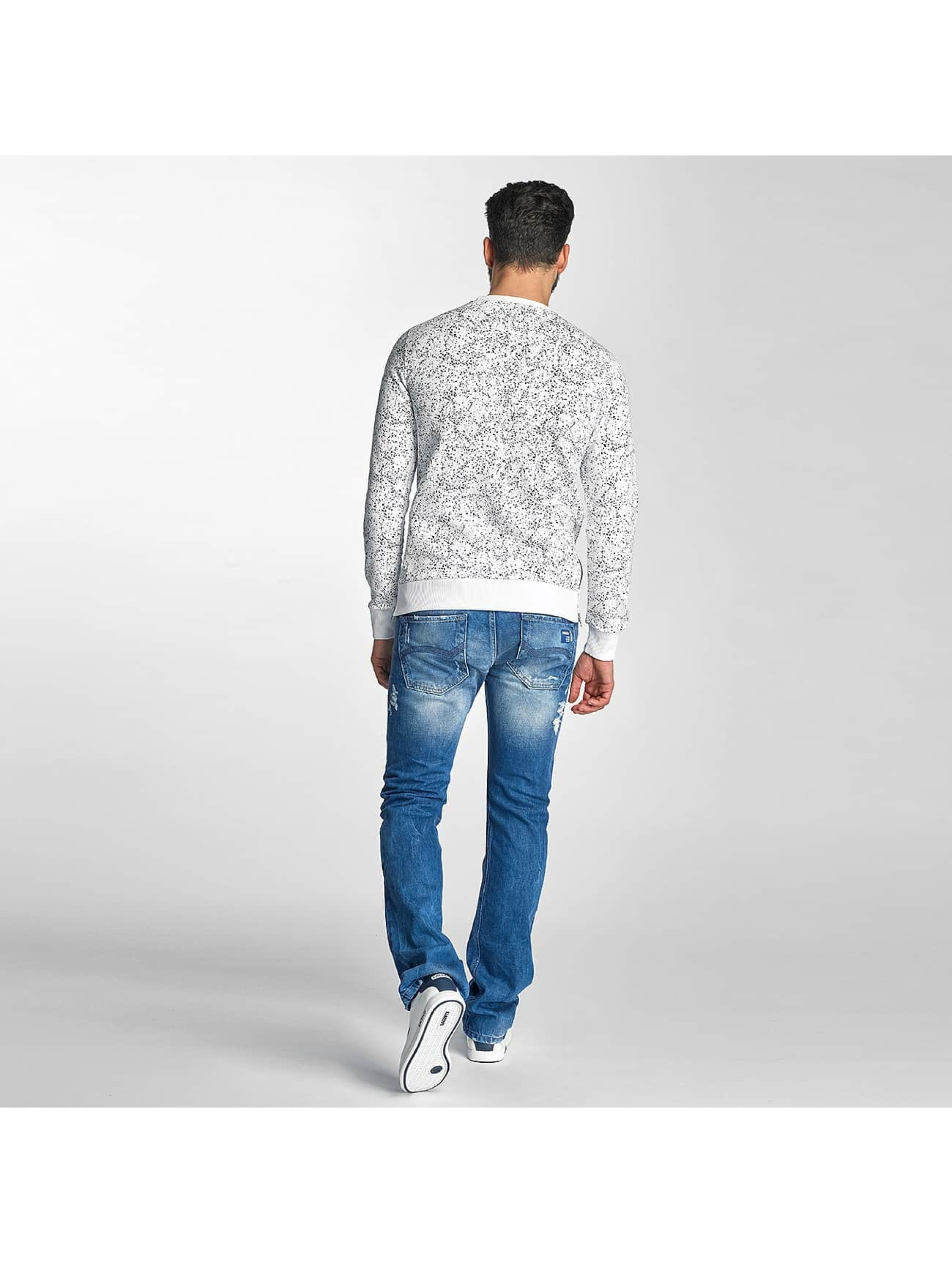 Red Bridge Pullover Born To Be Famous white