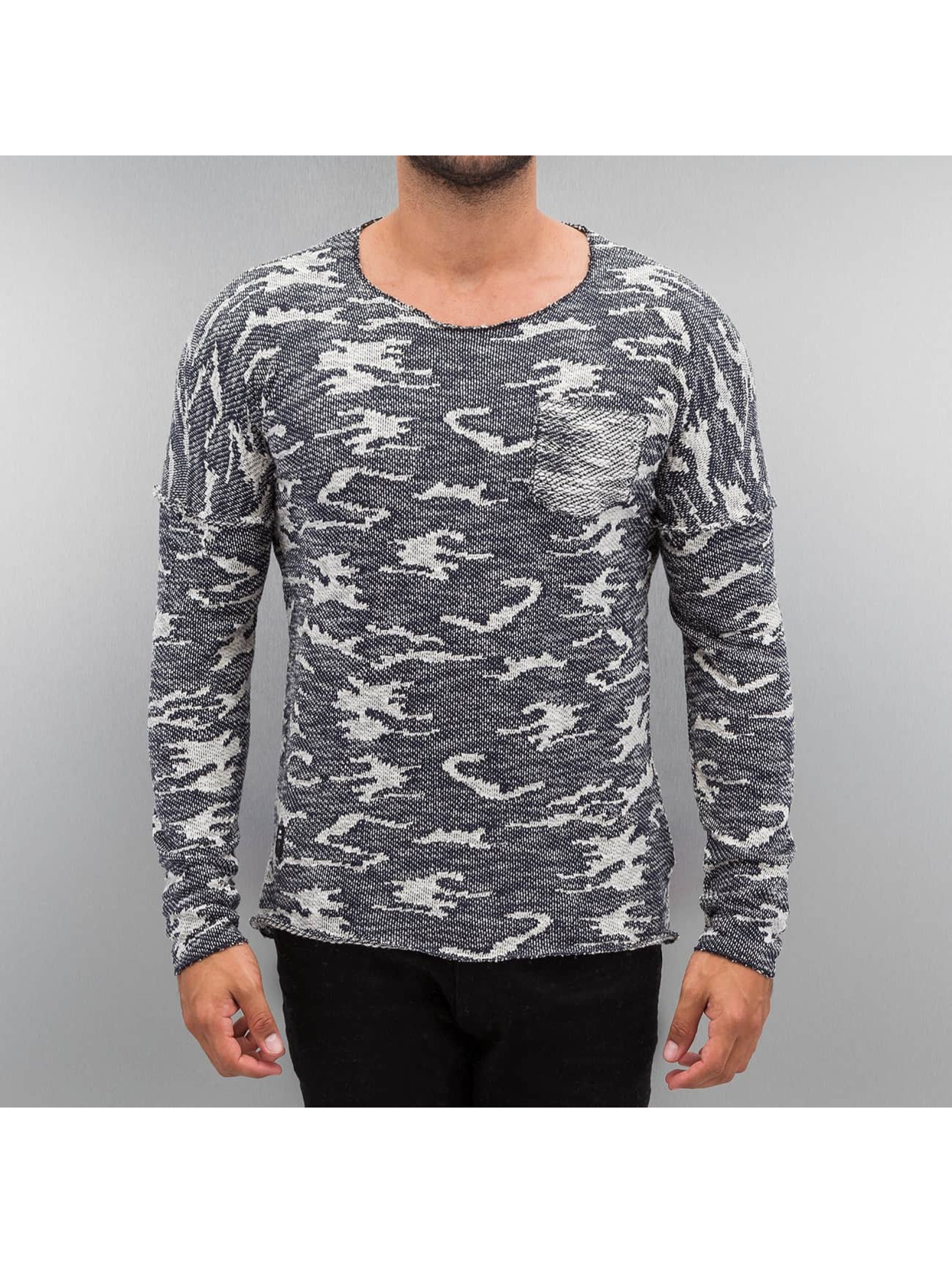 Red Bridge Puserot Knit Camo sininen