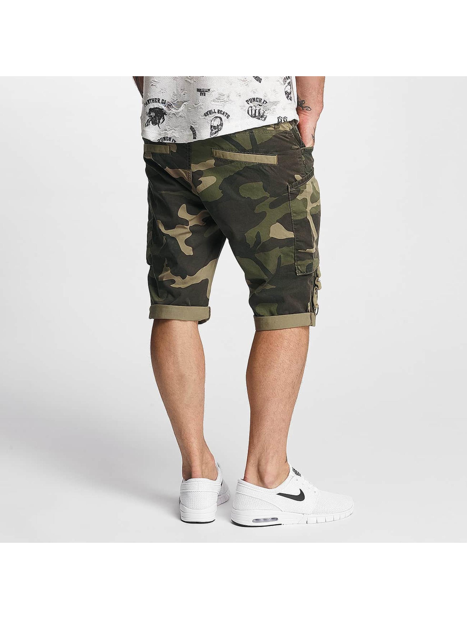 Red Bridge Shorts Capri camouflage