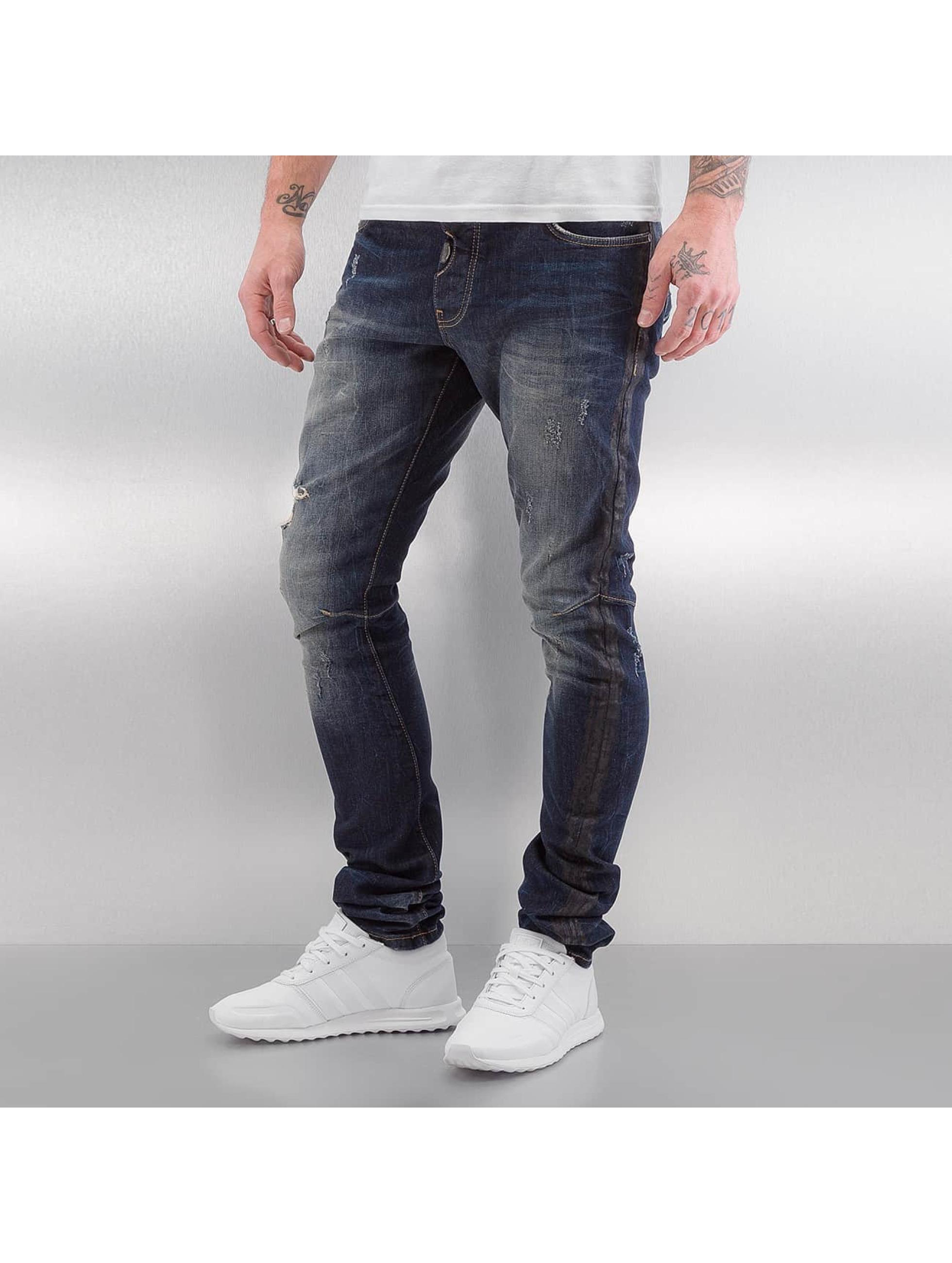 Red Bridge Slim Fit Jeans Mosi blau