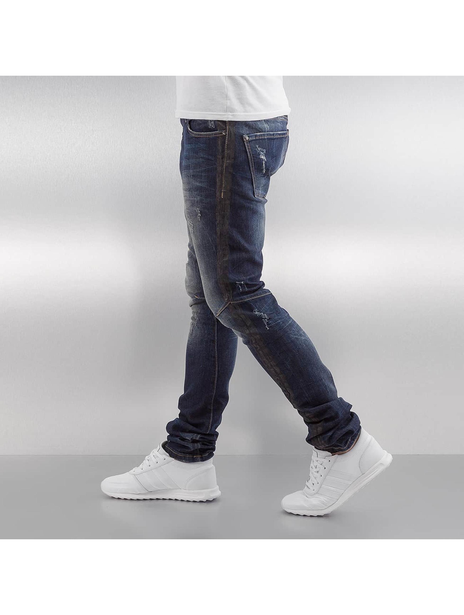 Red Bridge Slim Fit Jeans Mosi blauw