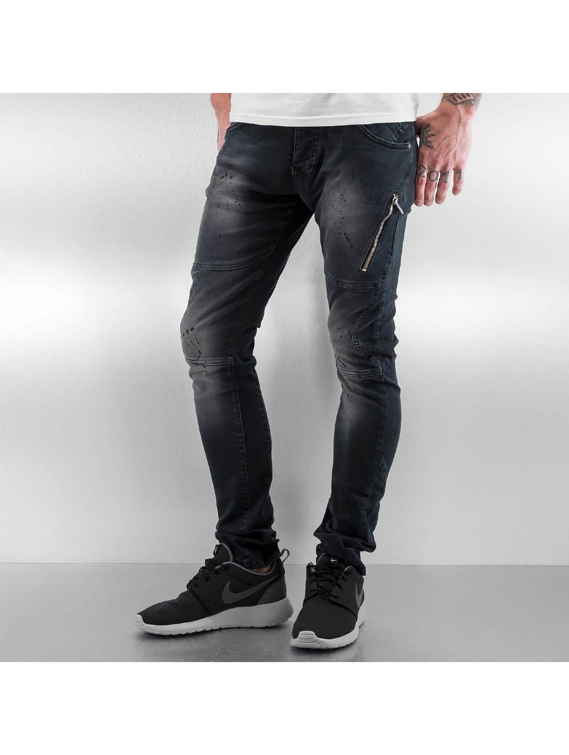 Red Bridge Slim Fit Jeans Nevio modrá