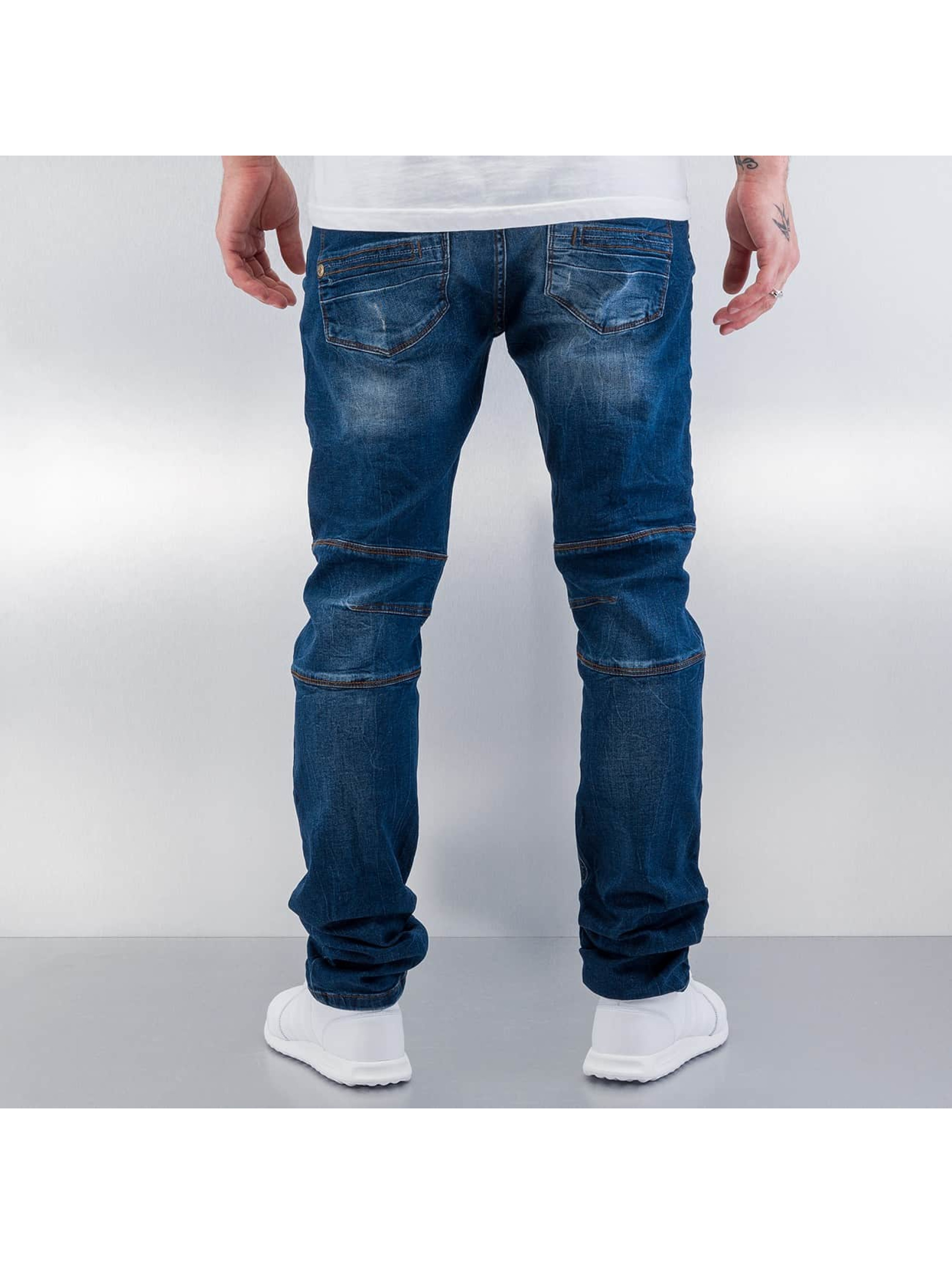 Red Bridge Straight Fit Jeans Quited blå