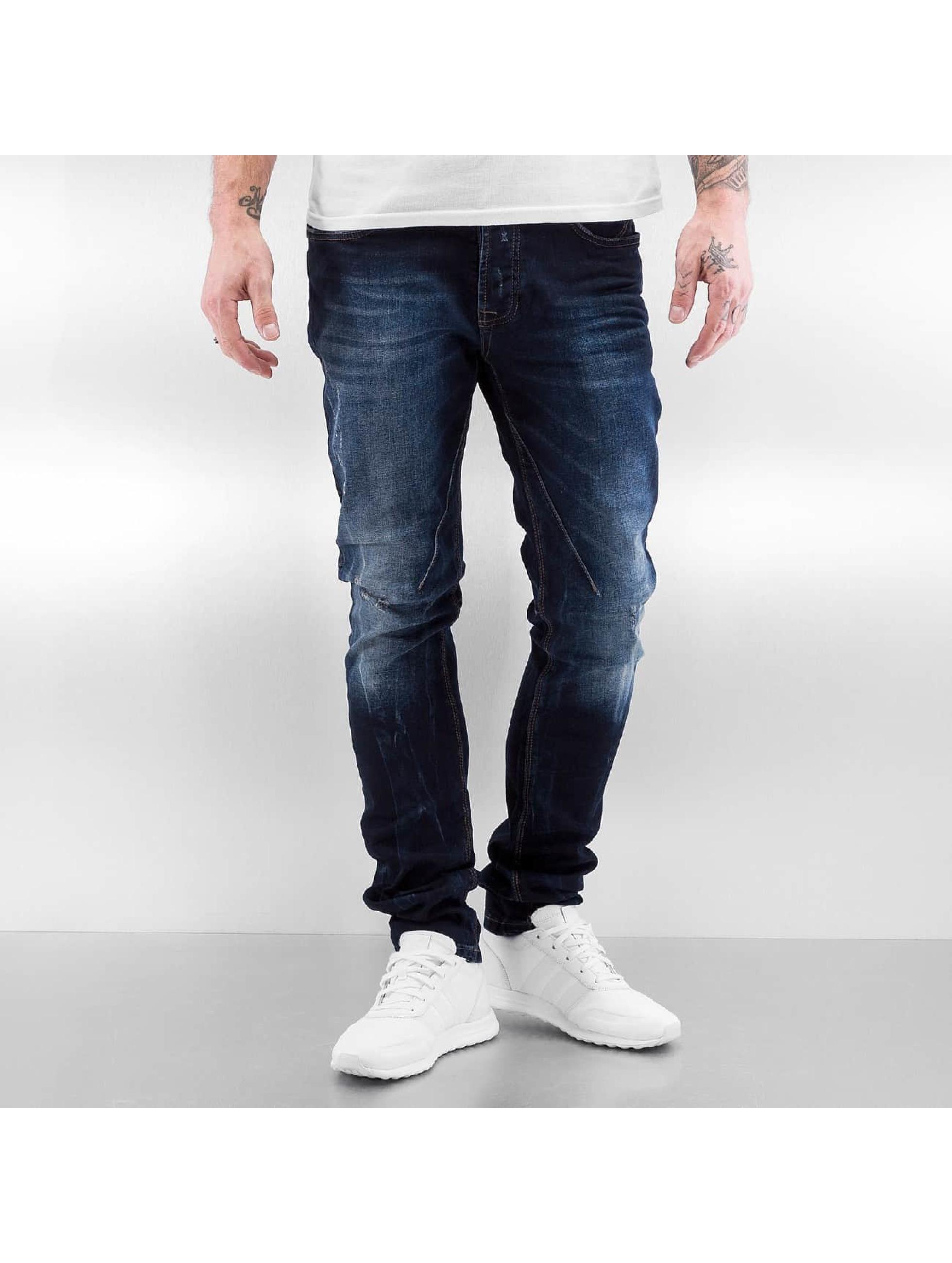 Red Bridge Straight Fit Jeans Hilario blå