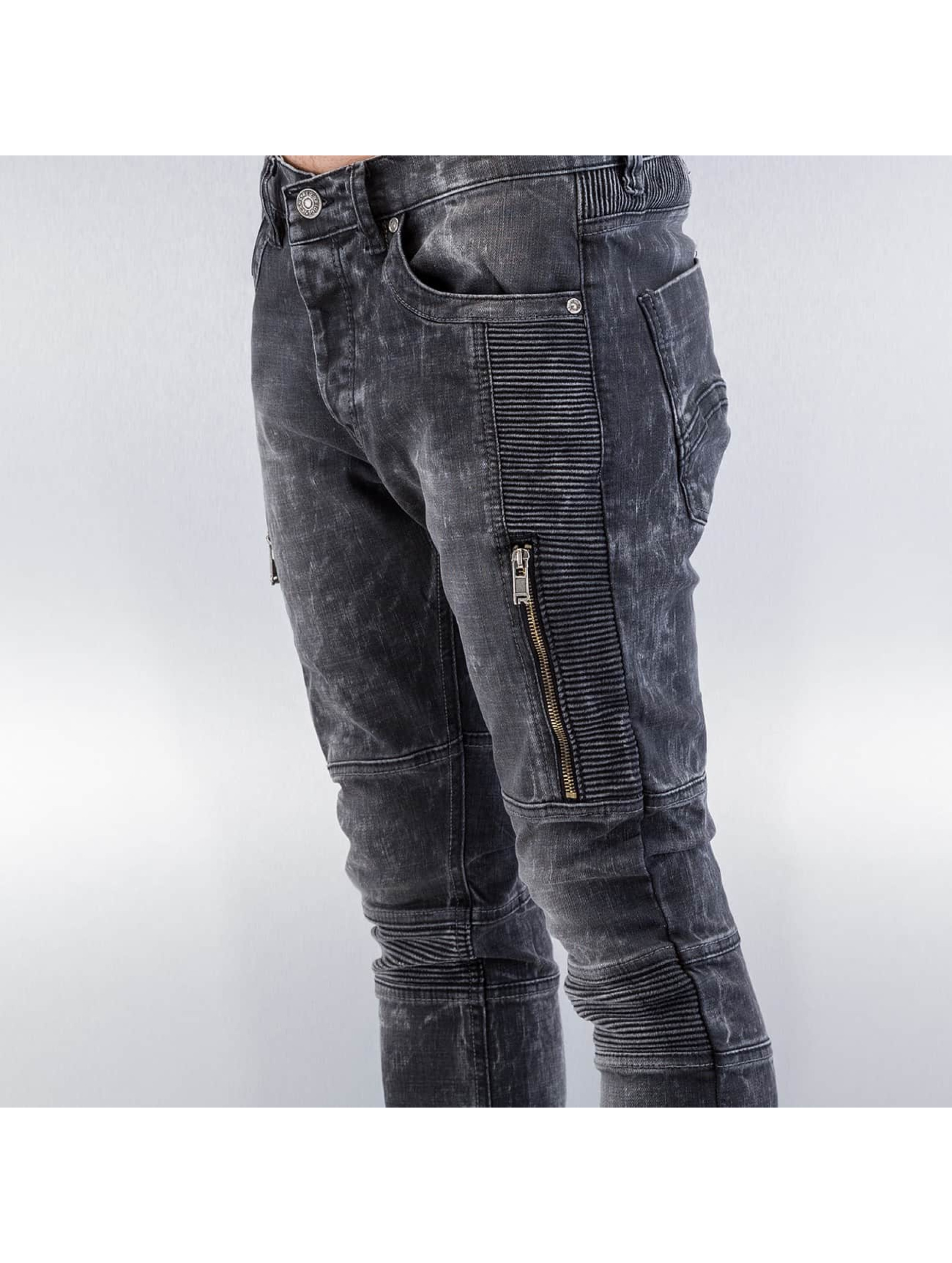 Red Bridge Straight Fit Jeans Crazy II black