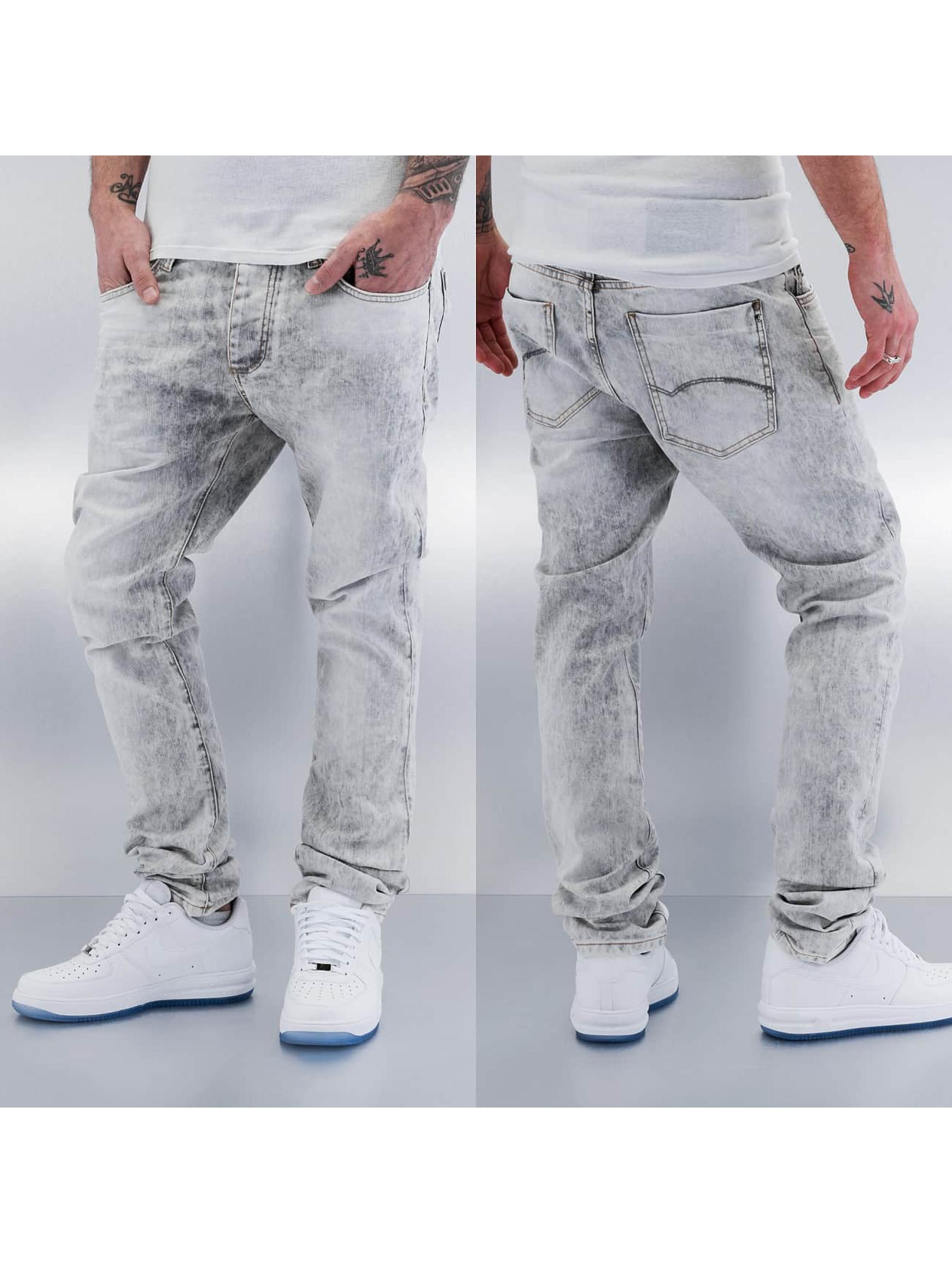 Red Bridge Straight Fit Jeans Rain blau