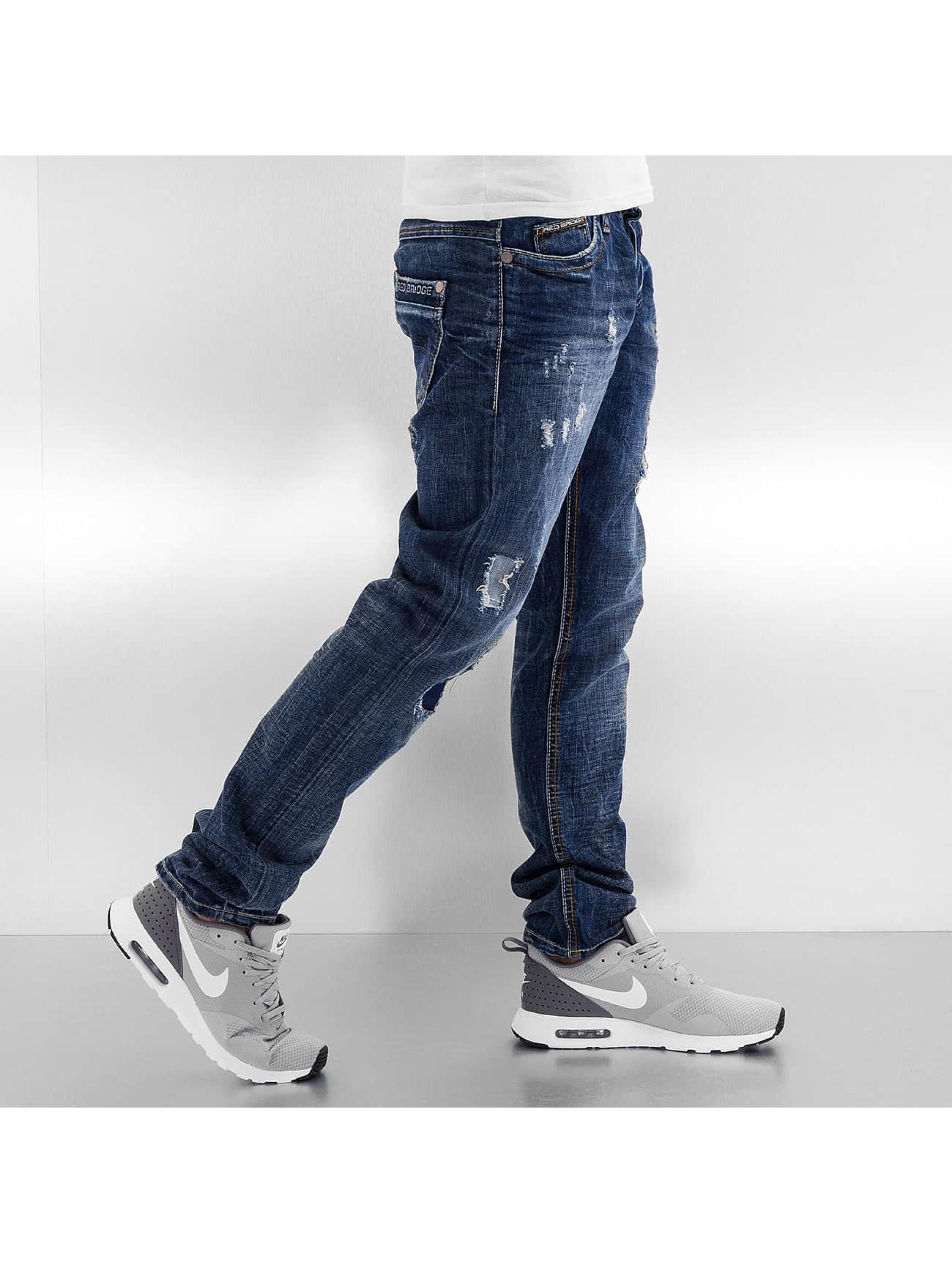 Red Bridge Straight Fit Jeans Xalapa blau