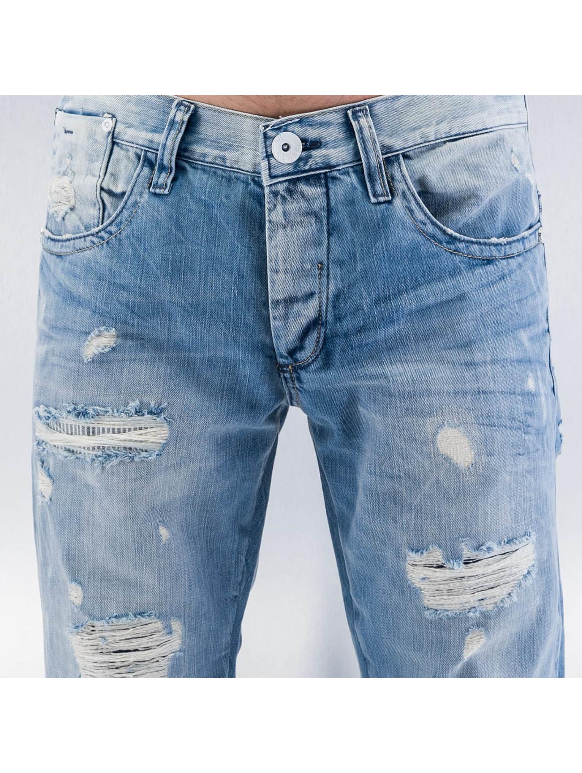 Red Bridge Straight Fit Jeans Used blau