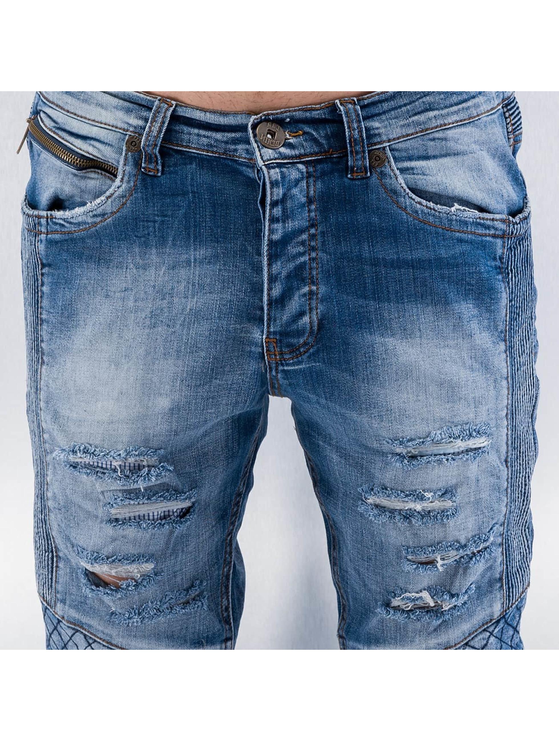Red Bridge Straight Fit Jeans Quit blau