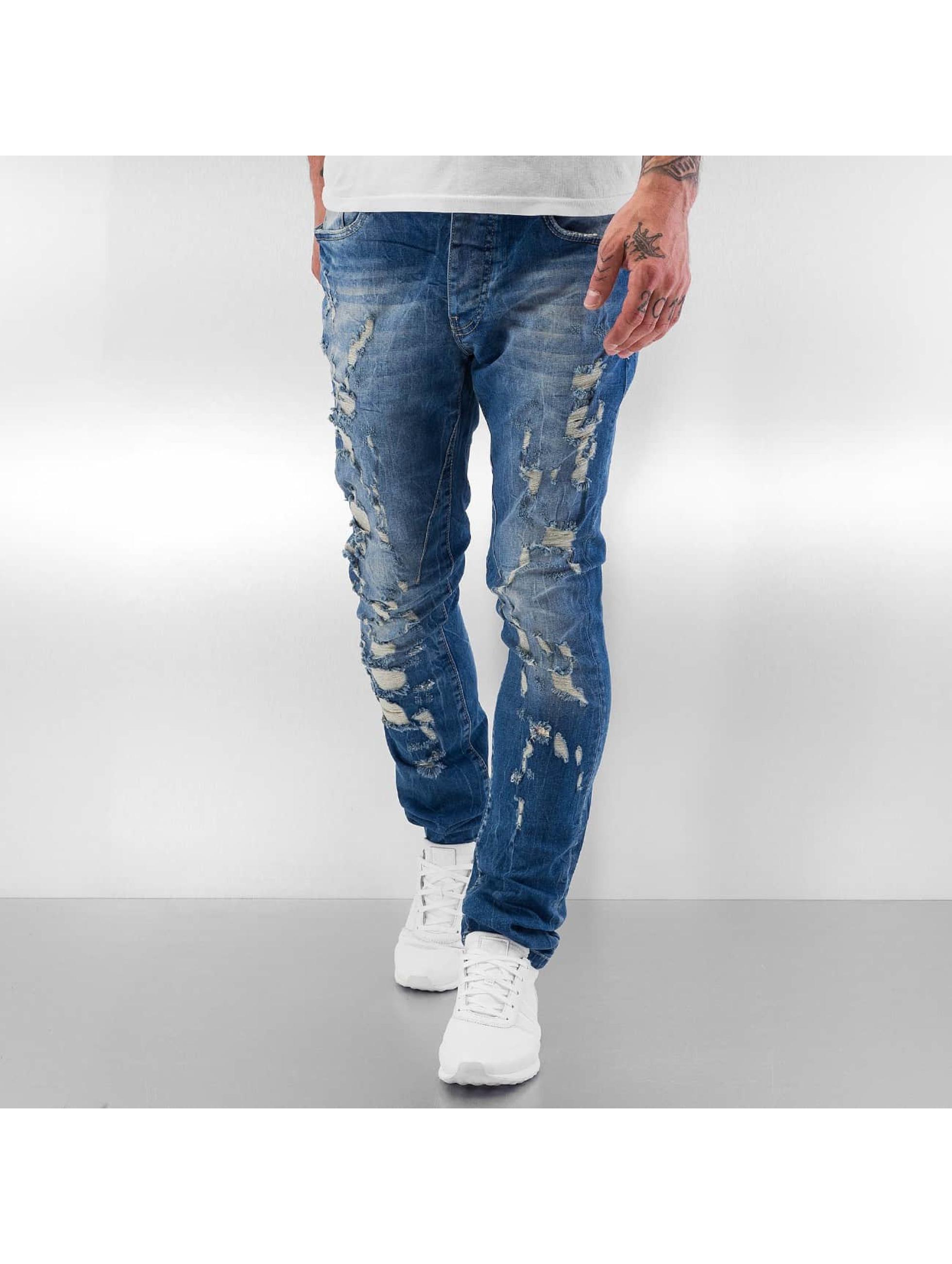 Red Bridge Straight Fit Jeans Mega blau