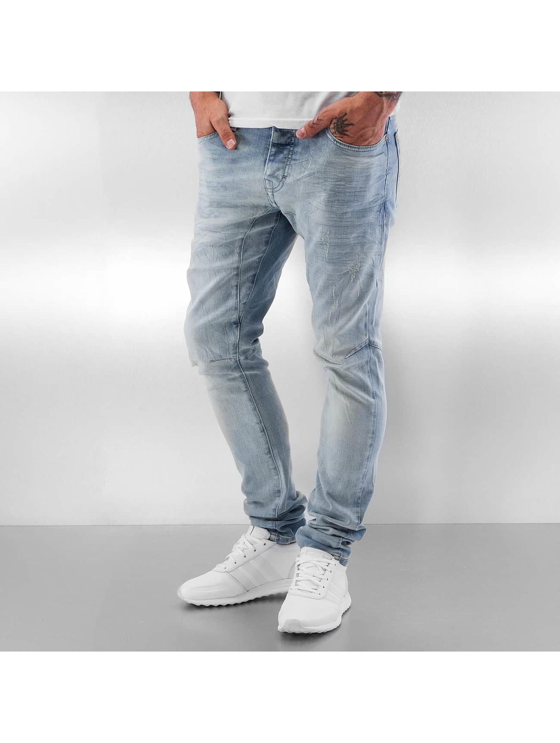 Red Bridge Straight Fit Jeans Cadix blau