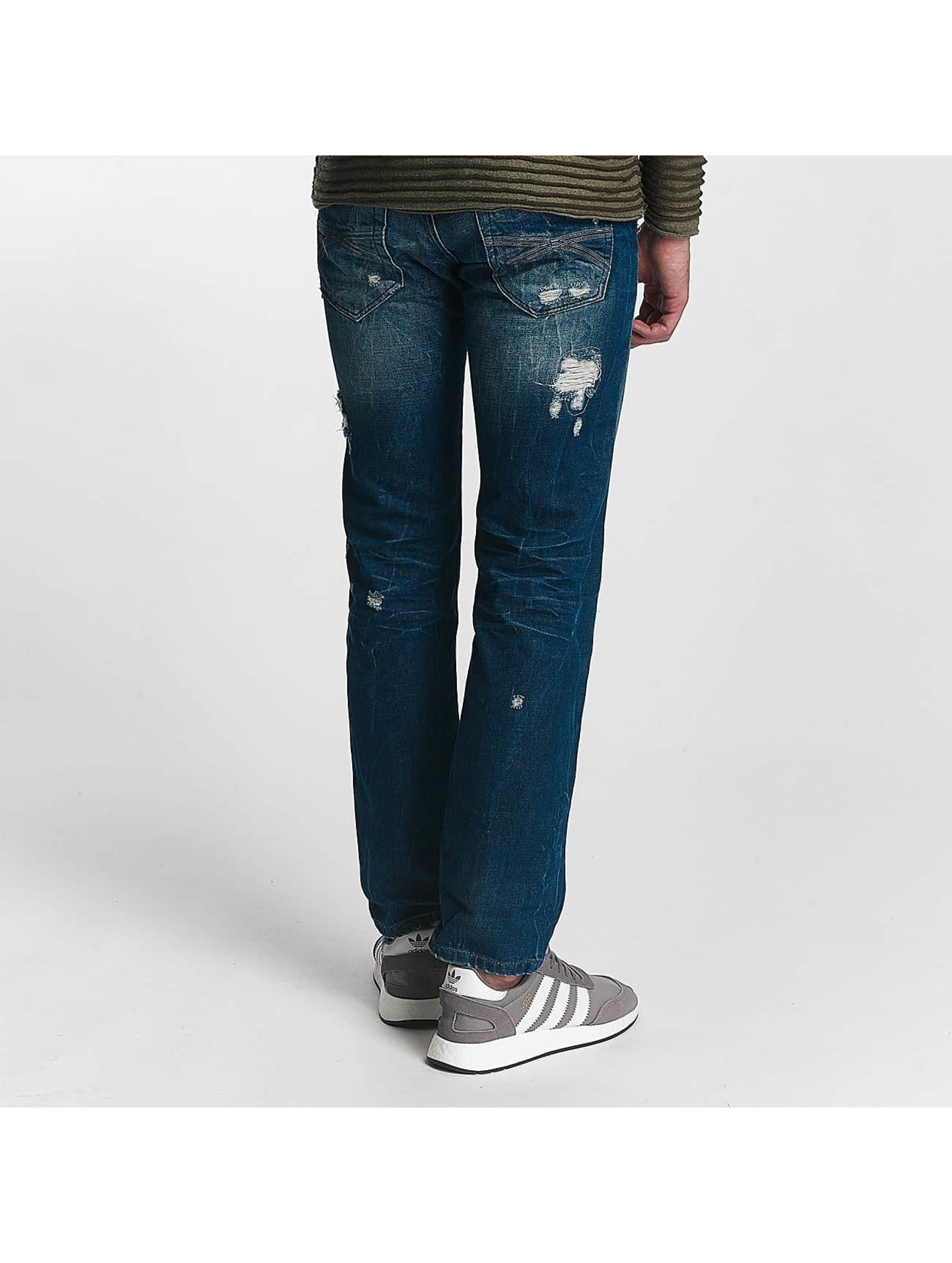 Red Bridge Straight Fit Jeans Hurricane blau