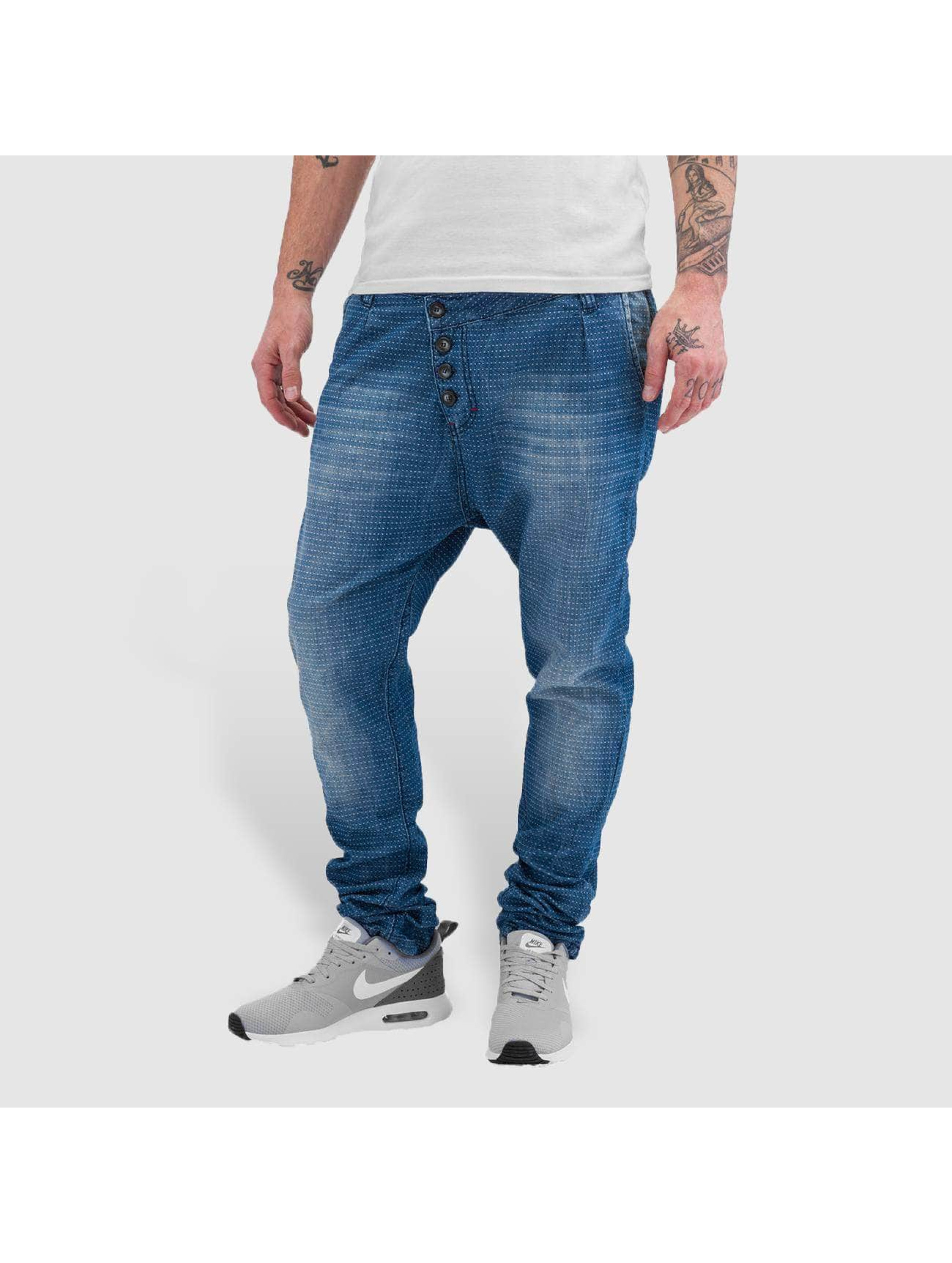 Red Bridge Straight fit jeans Dots blauw