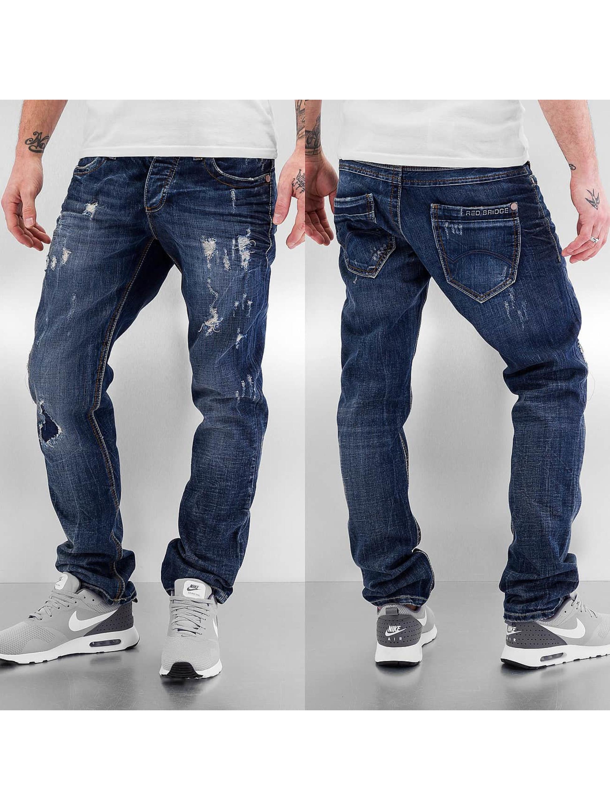 Red Bridge Straight fit jeans Xalapa blauw