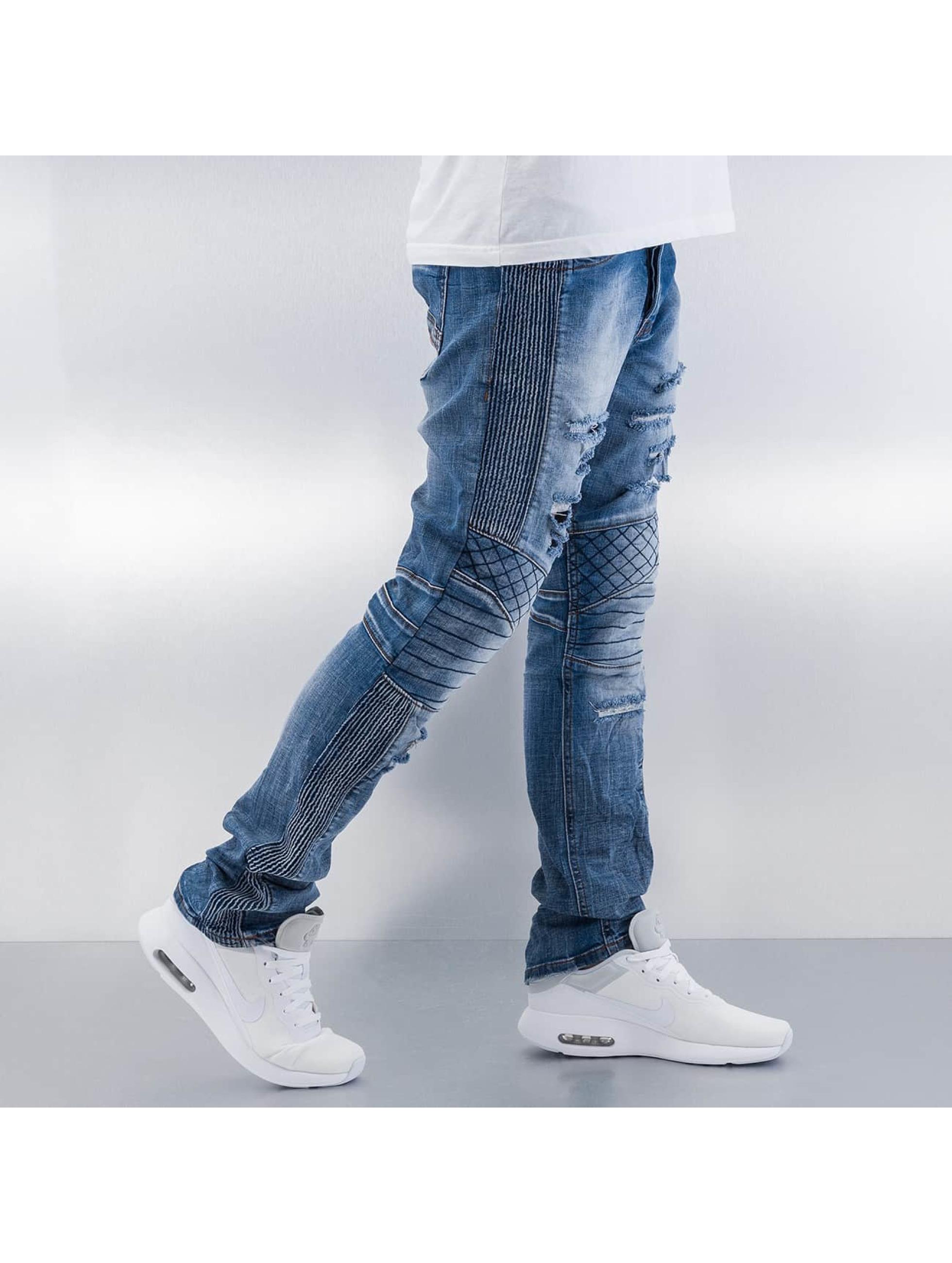 Red Bridge Straight fit jeans Quit blauw