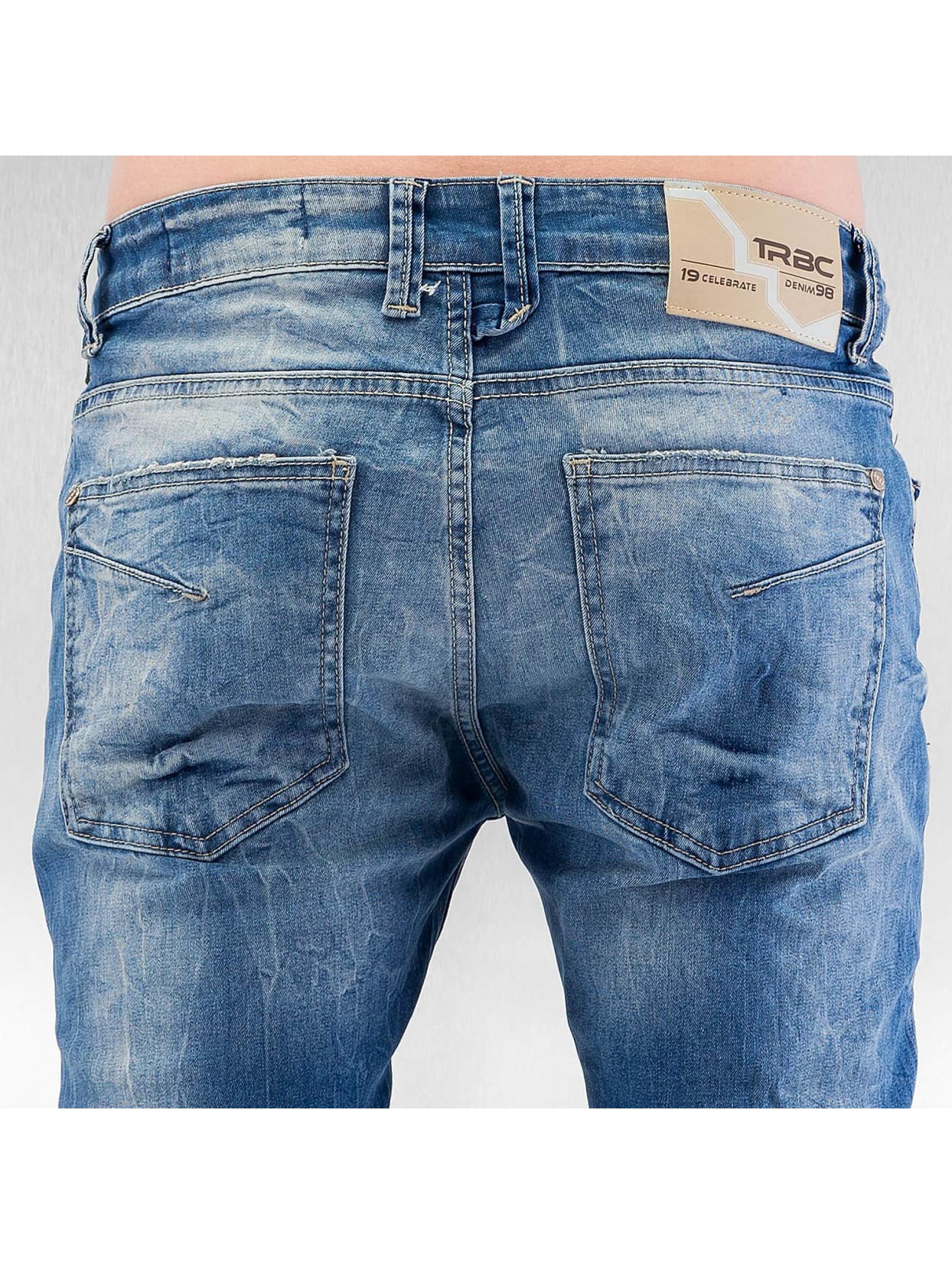 Red Bridge Straight Fit Jeans Mega blue