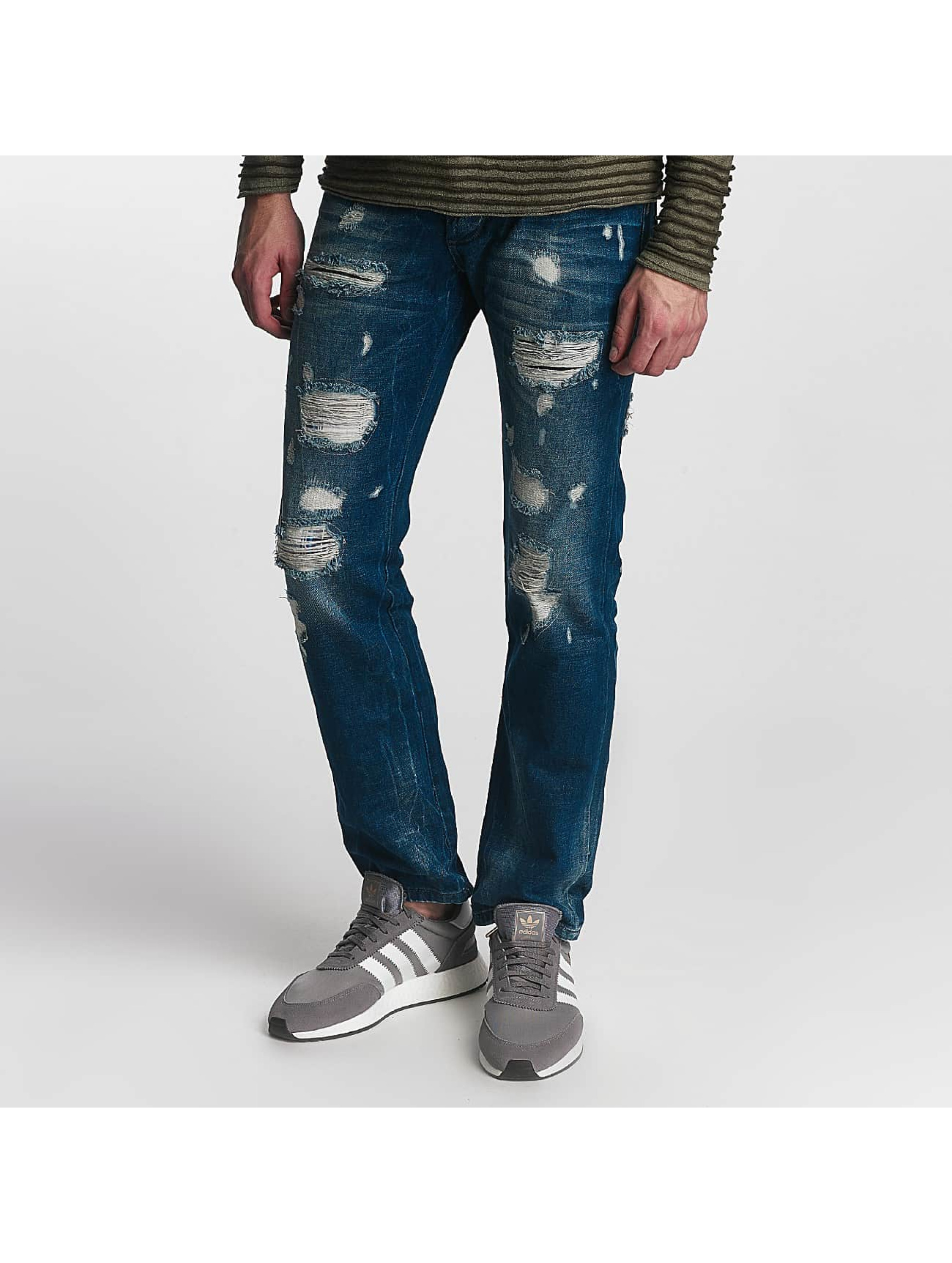 Red Bridge Straight Fit Jeans Hurricane blue