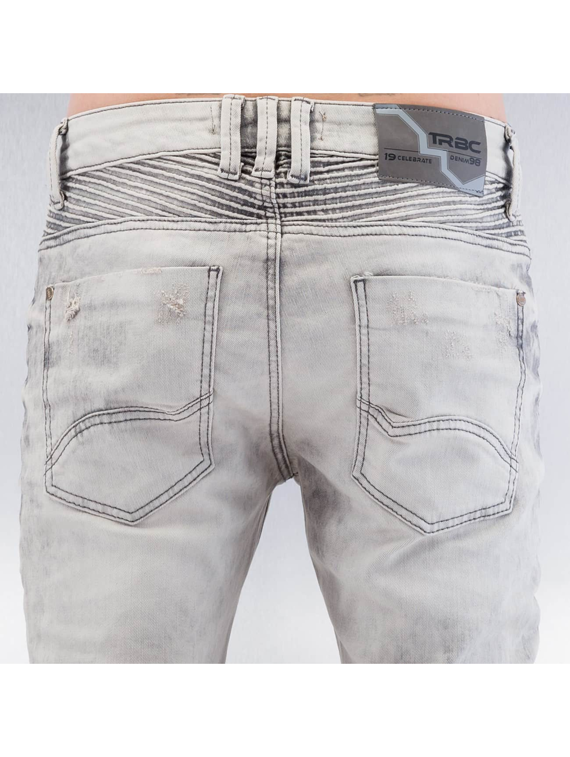 Red Bridge Straight Fit Jeans Dirrty Biker grau